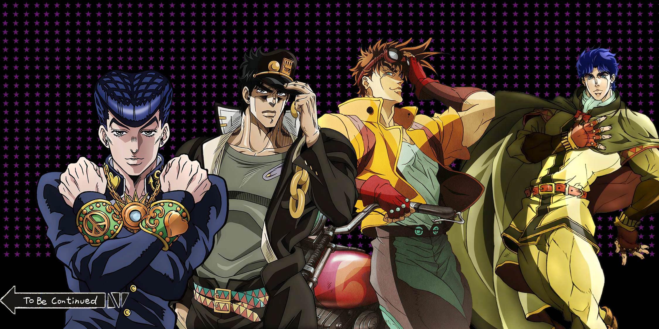 Wallpaper Jojo S Bizarre Adventure Jojo Hirohiko Araki Anime