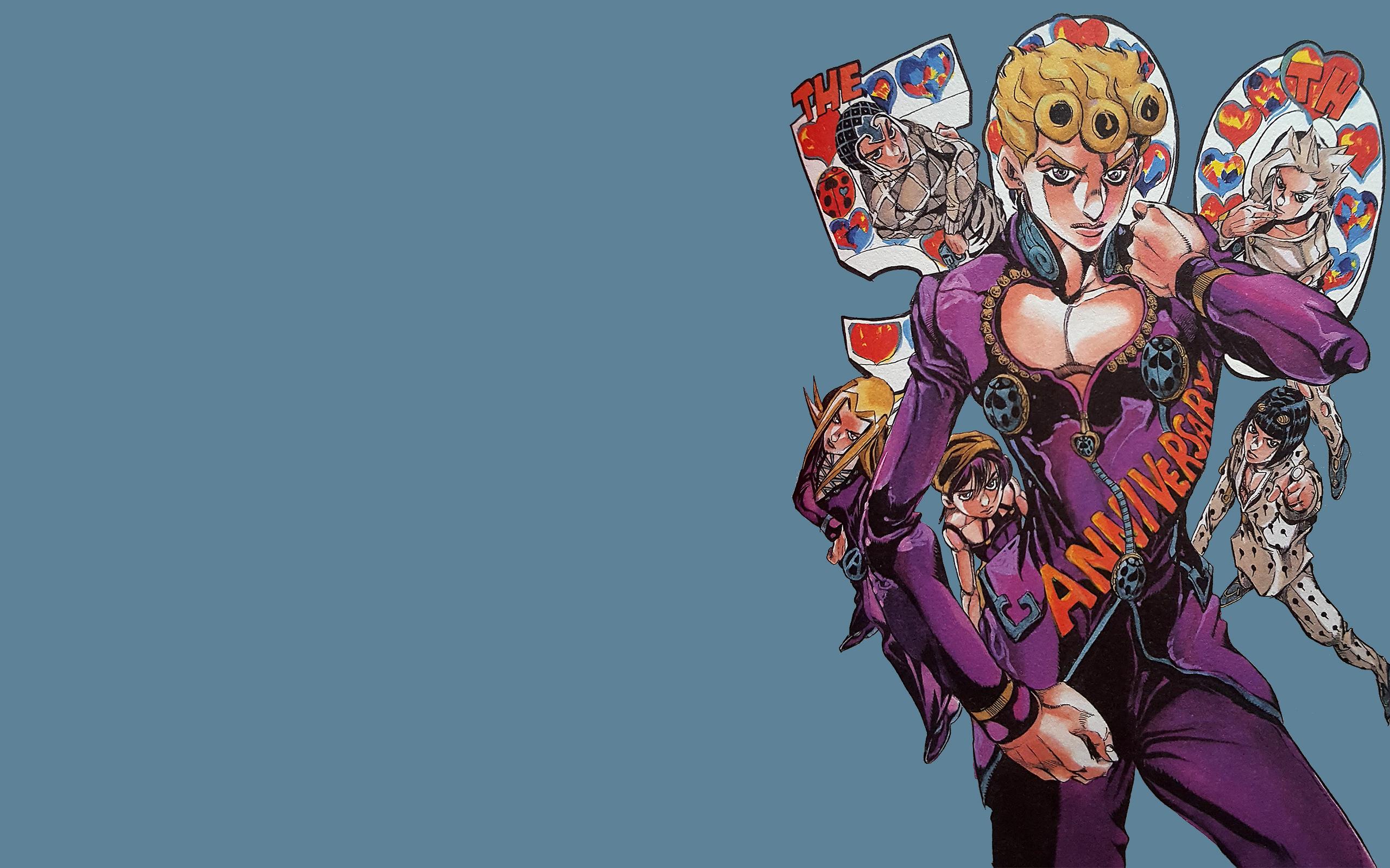 デスクトップ壁紙 : ジョジョの奇妙な冒険, ジョジョリオン, アニメ, マンガ, Hirohiko Araki