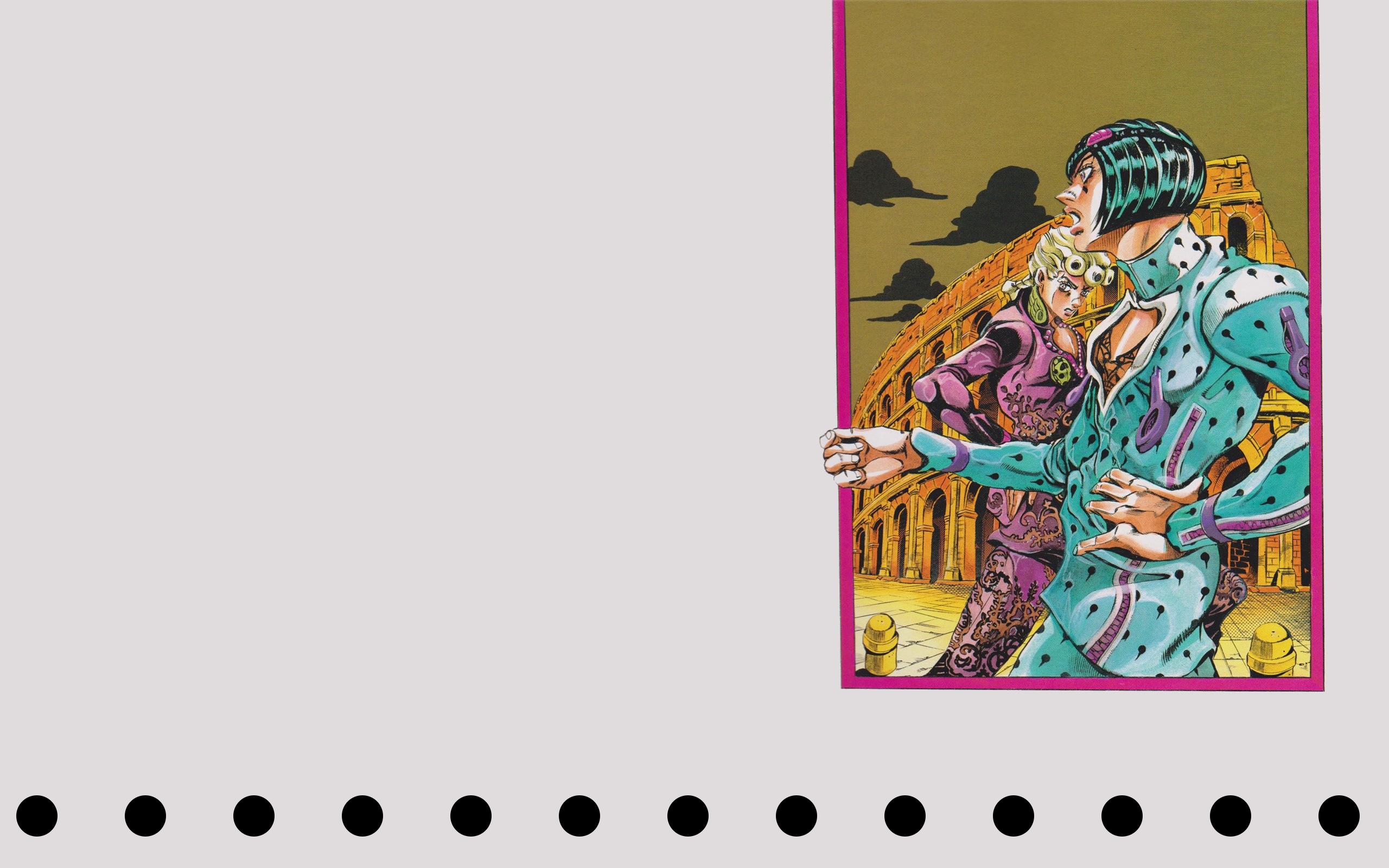 Wallpaper Jojo S Bizarre Adventure Anime Manga Hirohiko Araki
