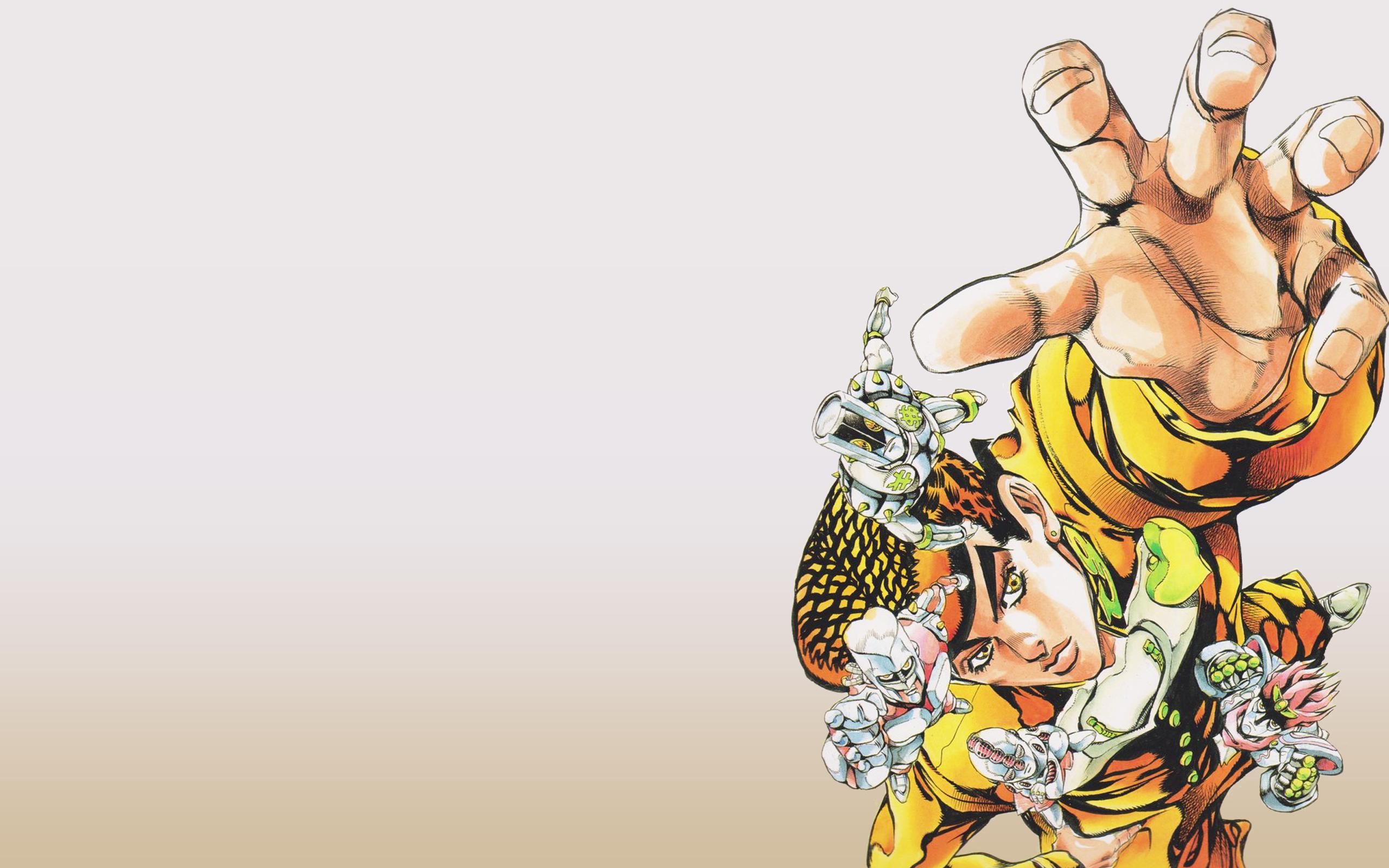 Wallpaper Jojo S Bizarre Adventure Anime Manga Steel Ball Run