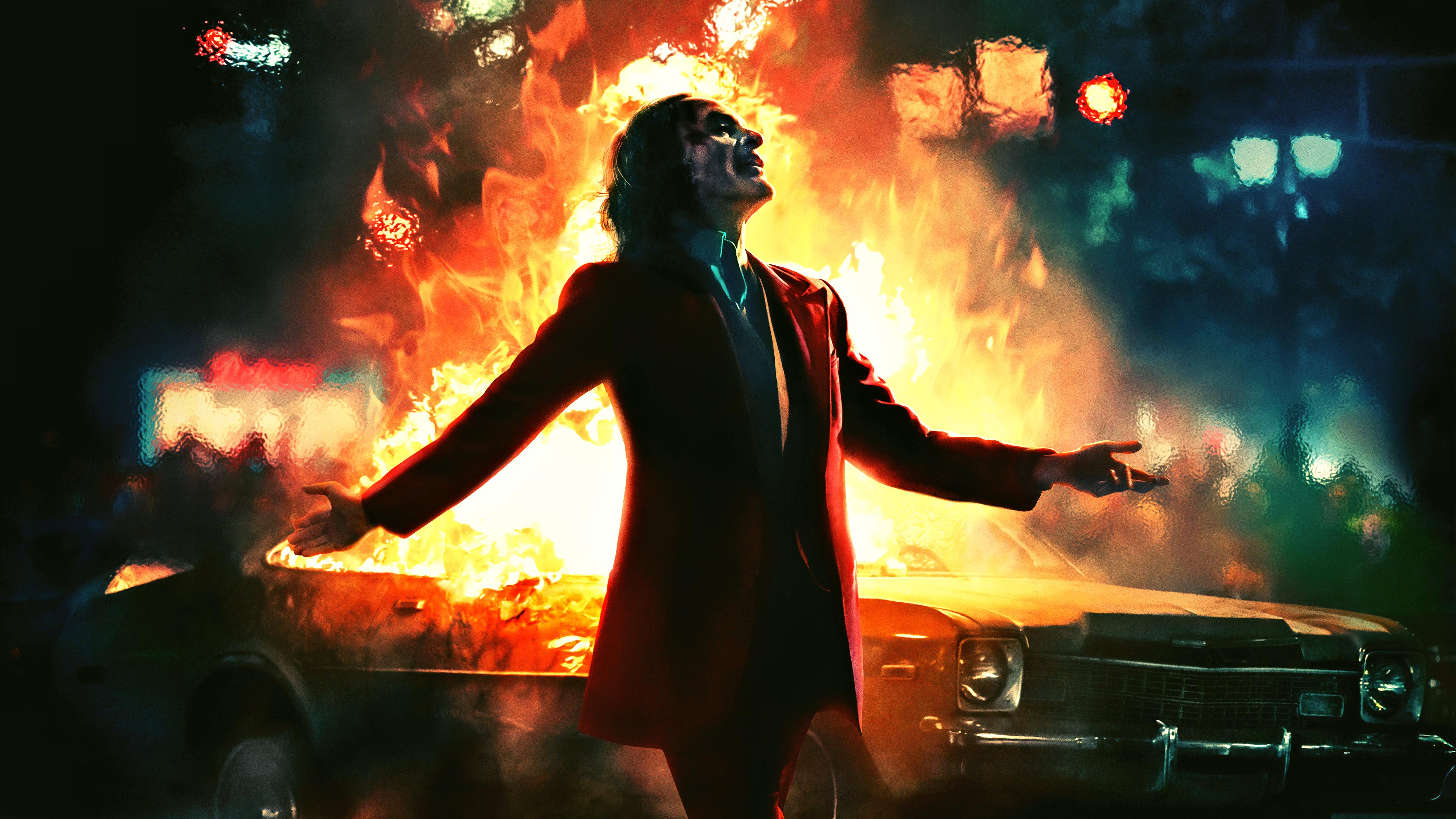 デスクトップ壁紙 Joker 19 Movie ゴッサム市 Paint Brushes Dcコミック ジョーカー バットマン Dcユニバース ピエロ 悪役 Super Villain 漫画 映画のキャラクター デジタルアート アートワーク 架空の人物 Fictional Characters ホアキン