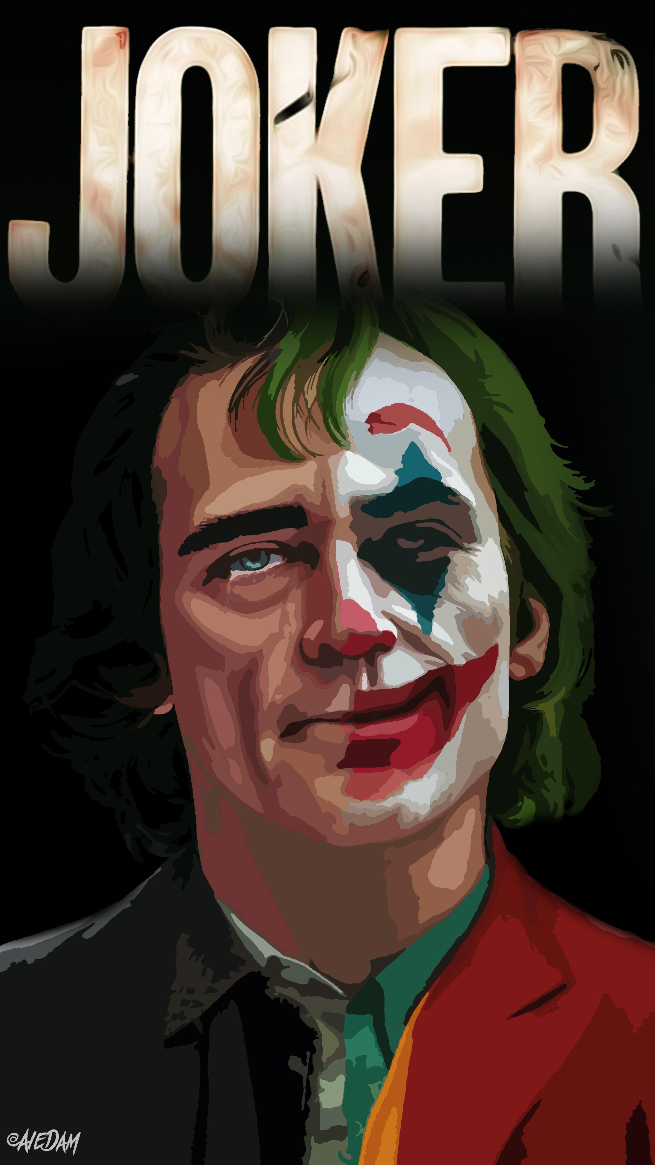 Joker 2019 Movie Joker Joaquin Phoenix DC Universe vector 1852841