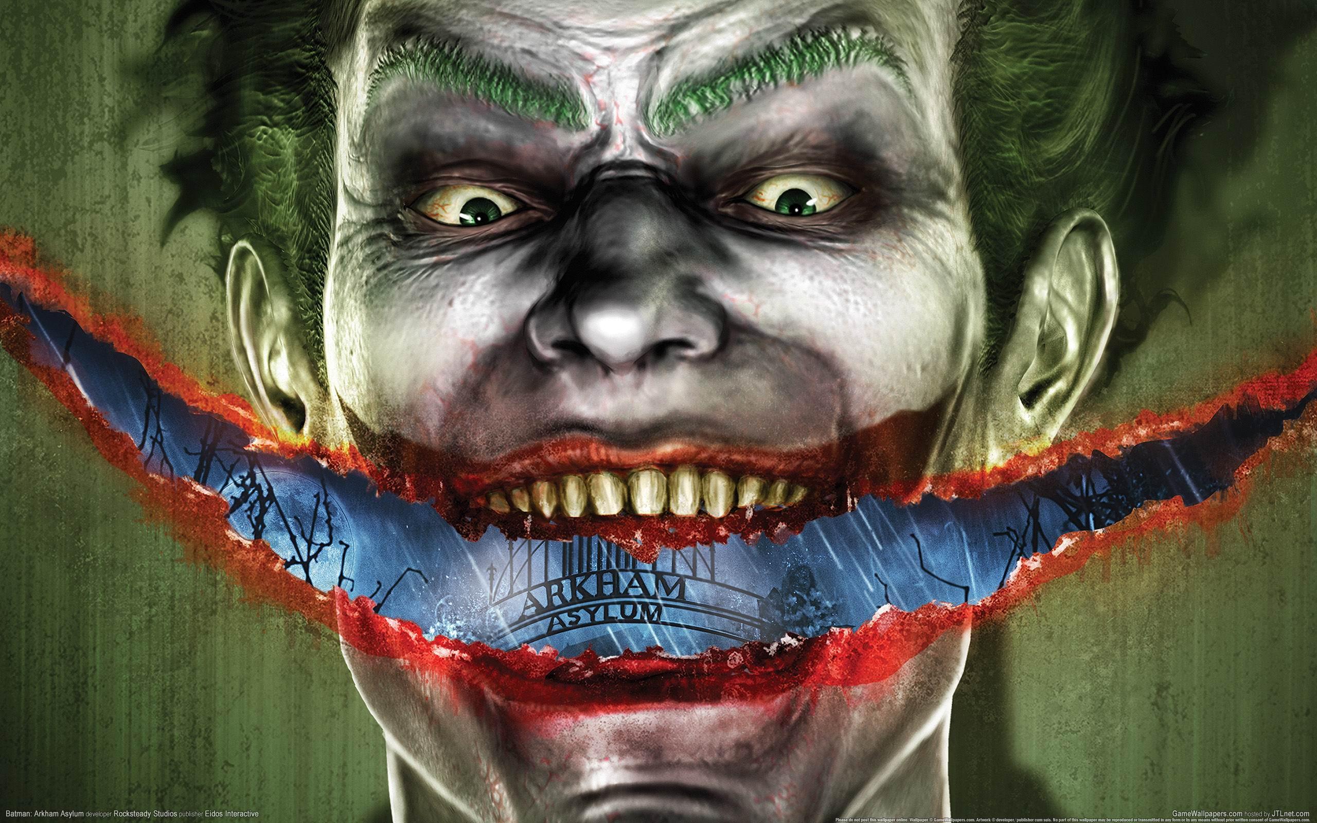 Wallpaper : Joker, Batman, games 2560x1600 ...