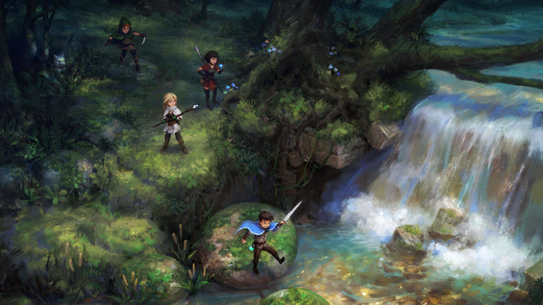 Wallpaper Jonathan Tiong Fantasy Art Artwork Digital Art