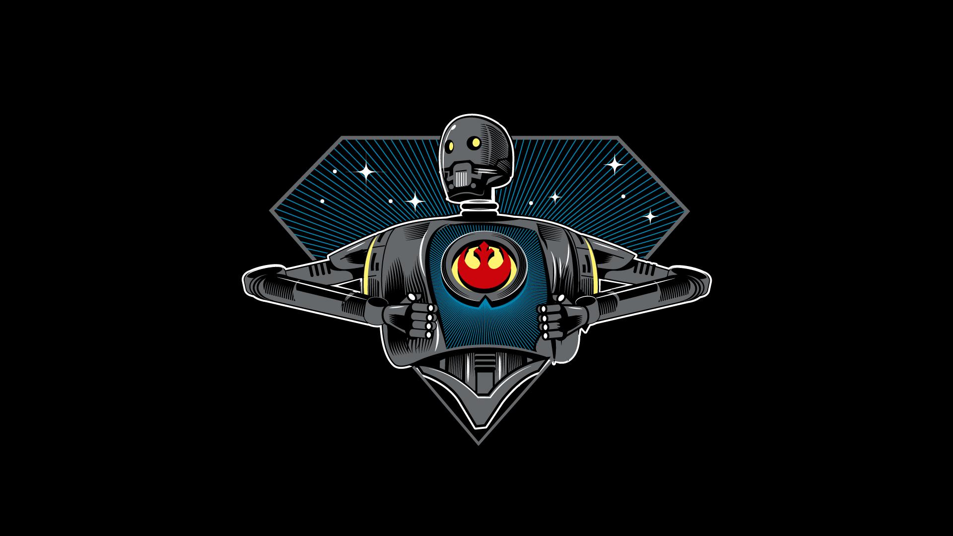 Wallpaper K 2so Star Wars Robot Rebel Alliance 1920x1080 Iamlegend 1380453 Hd Wallpapers Wallhere