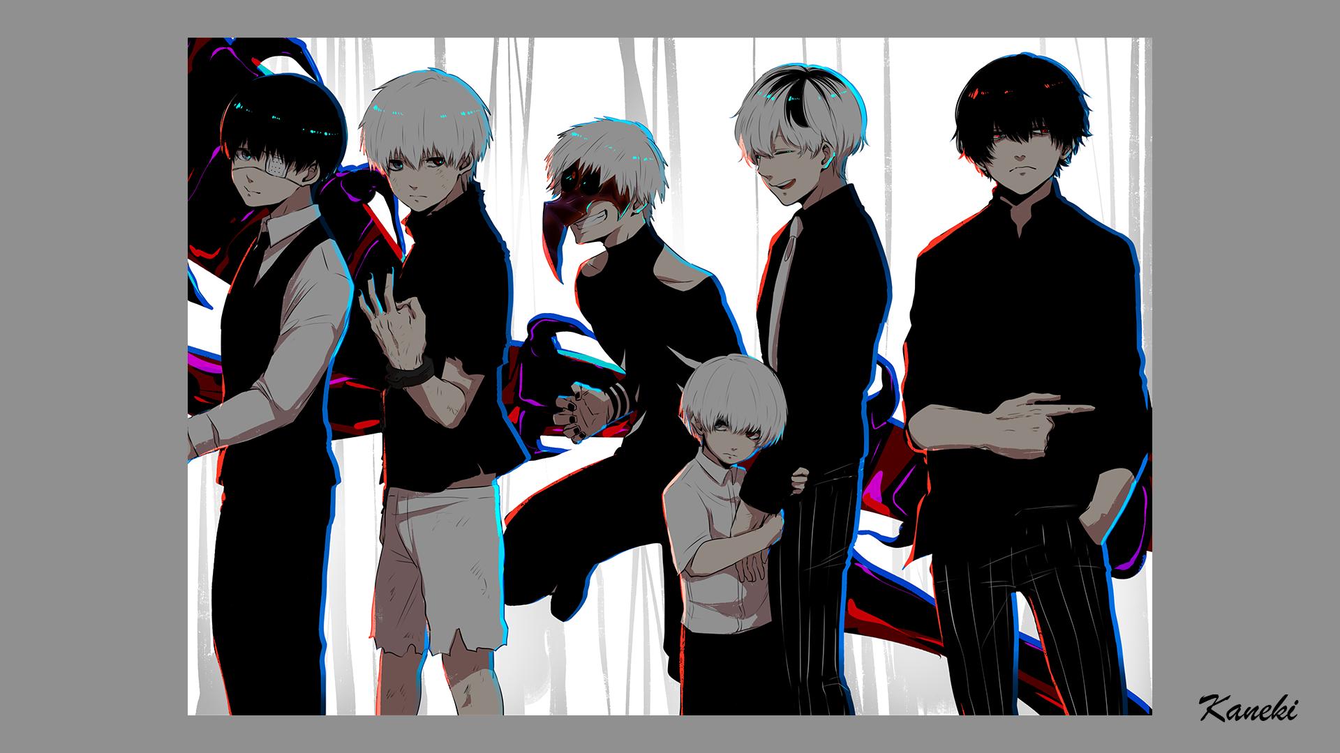 Wallpaper Kaneki Ken Tokyo Ghoul Tokyo Ghoul Re