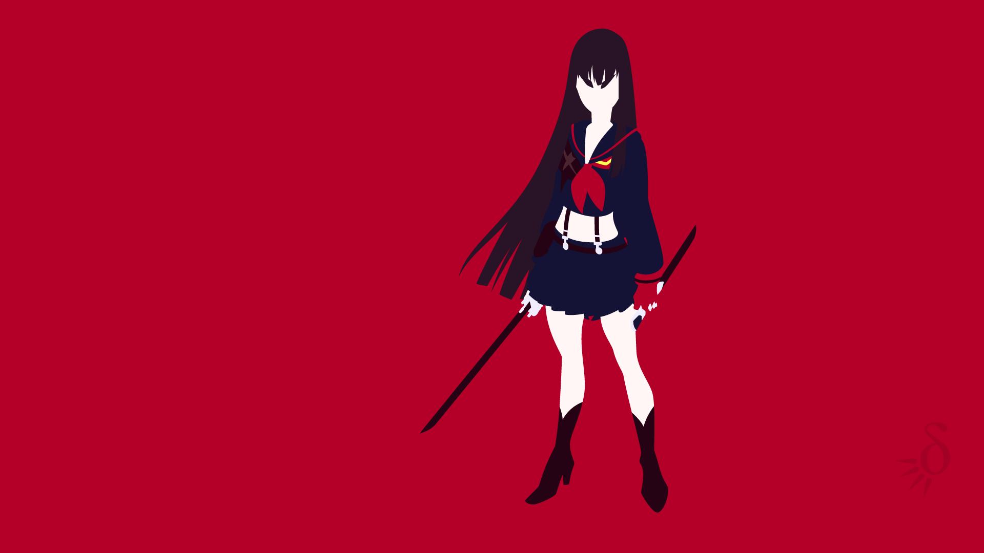 Wallpaper Kill La Kill Kiryuin Satsuki Anime Vectors Anime