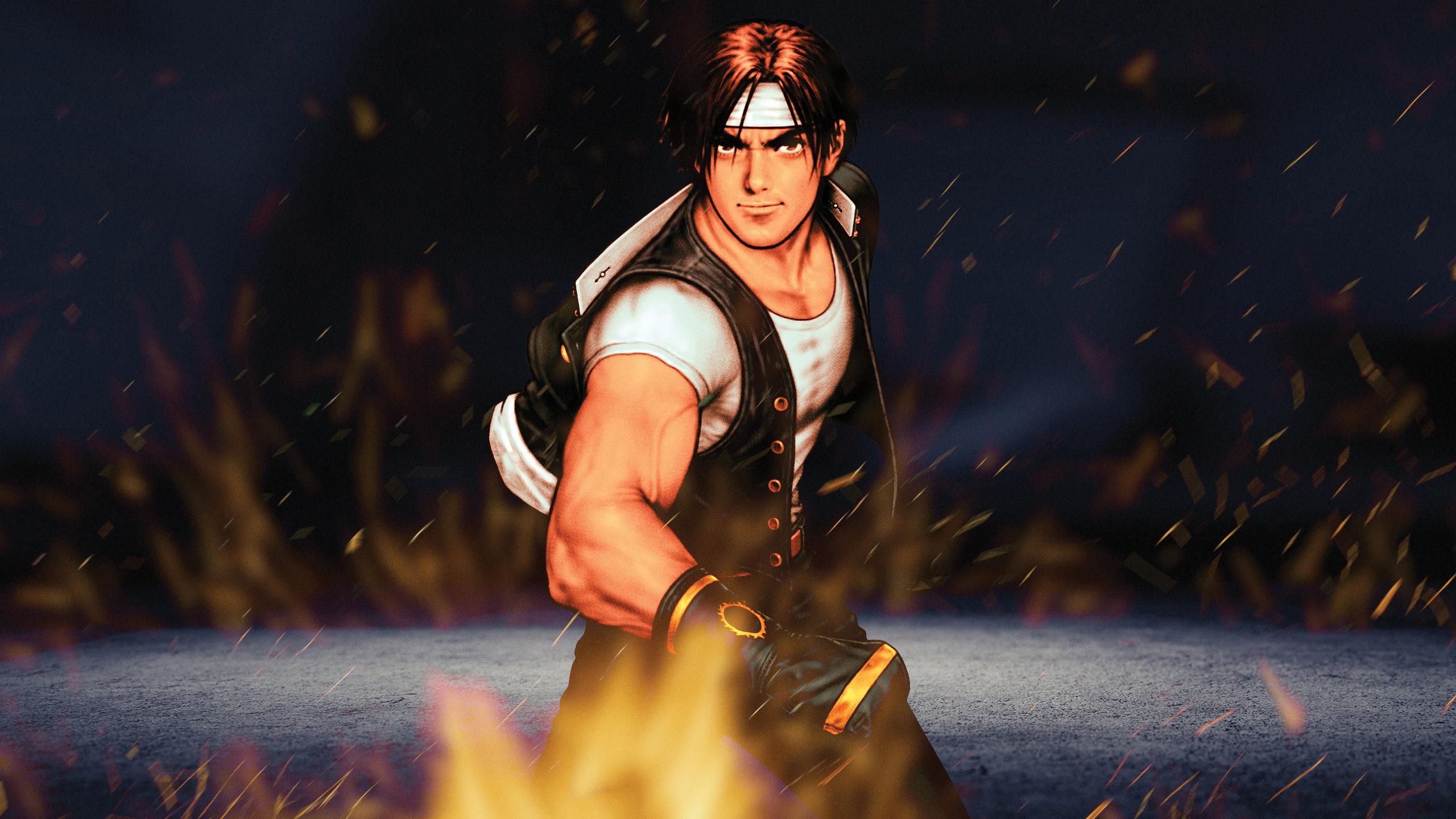 Wallpaper King Of Fighters Kyo Kusanagi 2560x1440