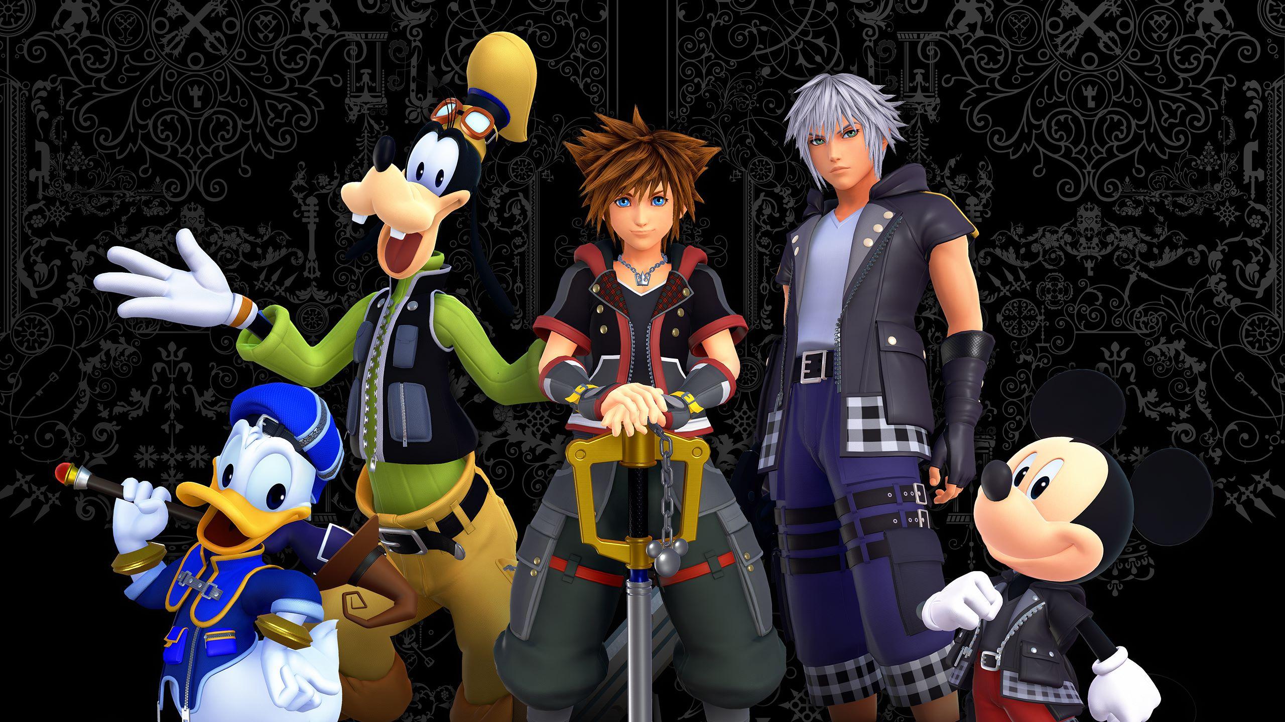 Kingdom Hearts 3 Sora Kingdom Hearts Mickey Mouse Donald Duck Goofy