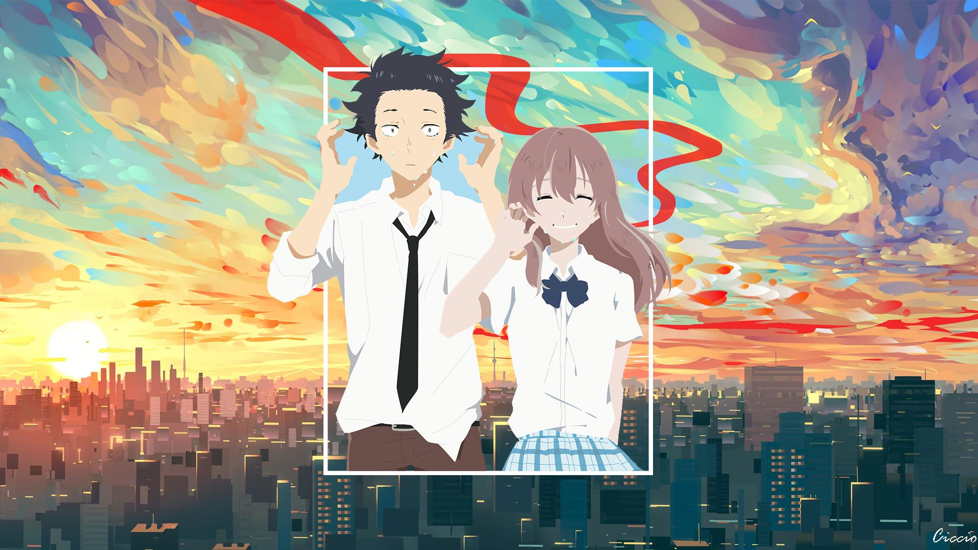Wallpaper Koe No Katachi Anime 1920x1080 Mariokyo 1563047