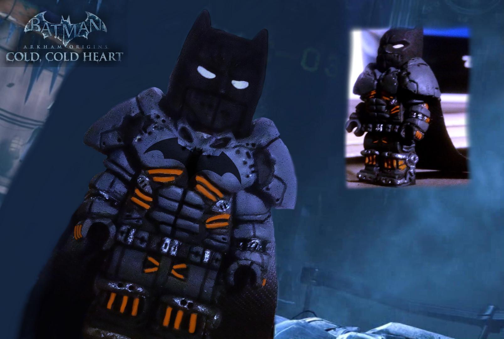 Lego batman arkham origins artfiks custom xesuit