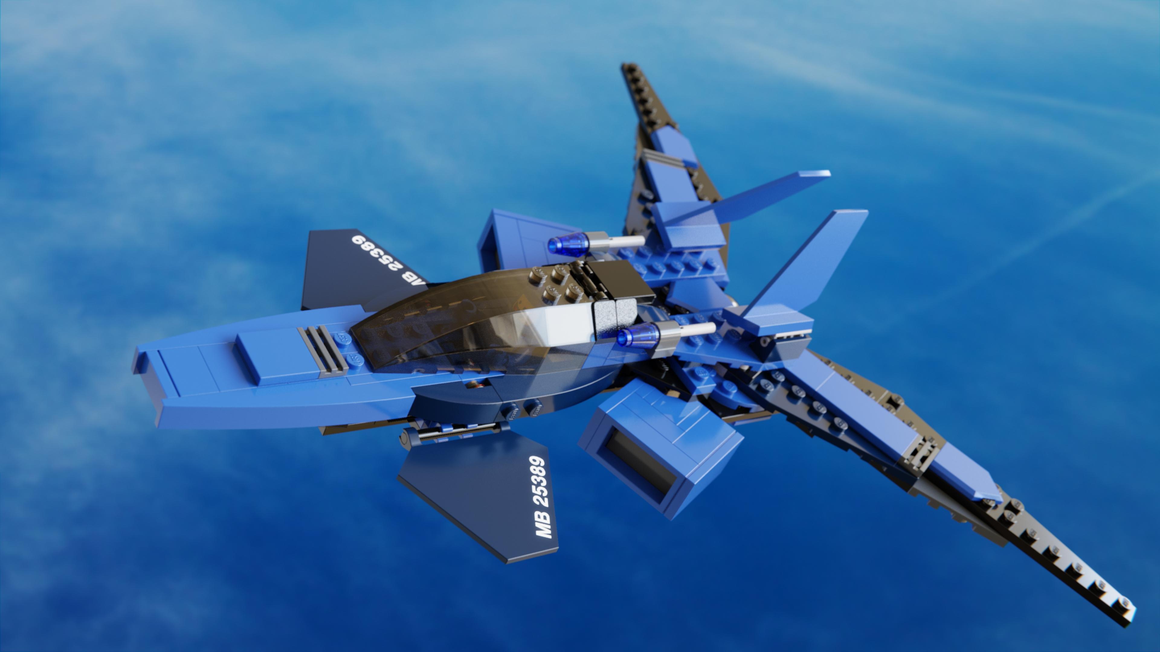 Wallpaper : LEGO, Blender, filmic, cycles, mecabricks