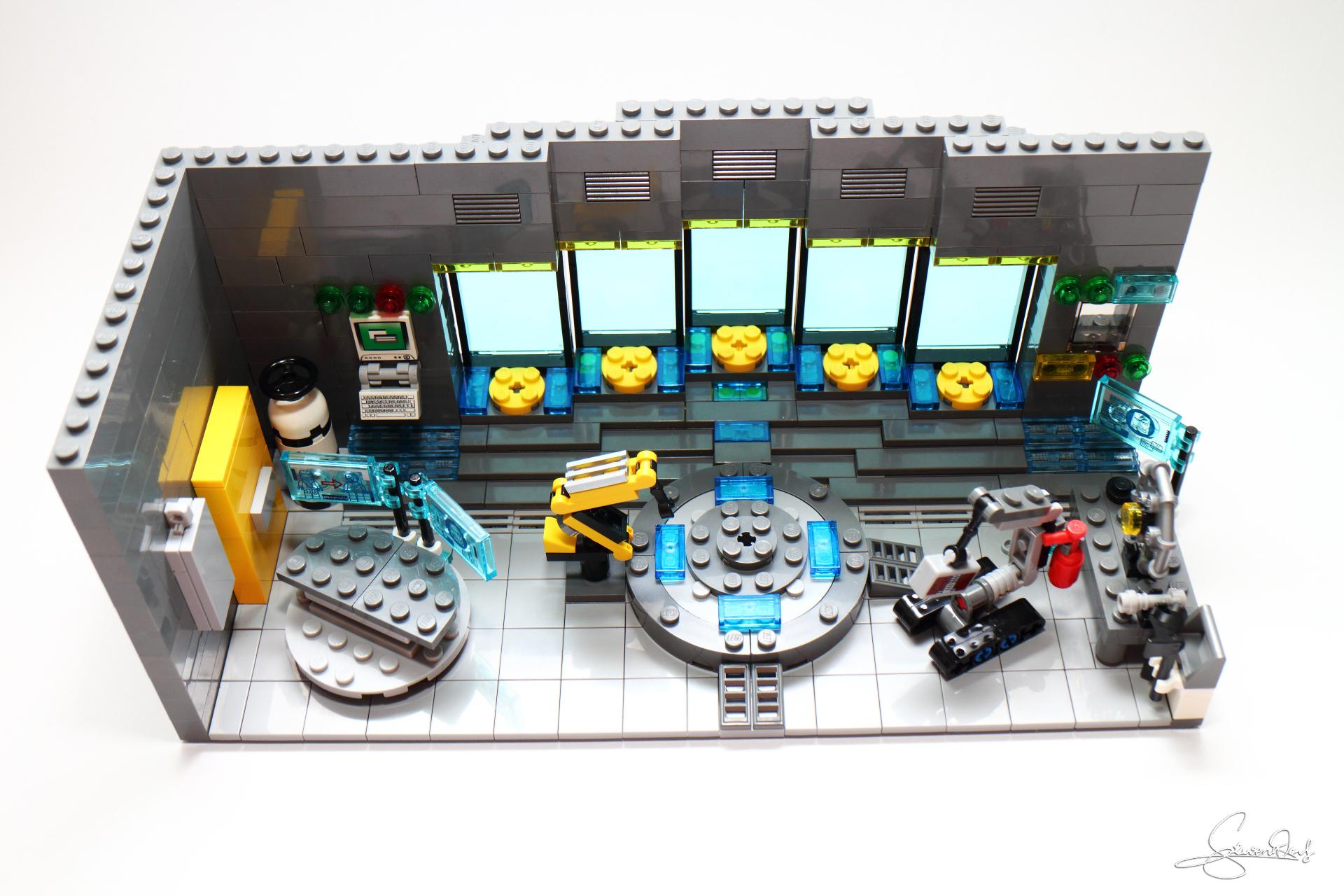 Картинка лего лаборатория железного человека
