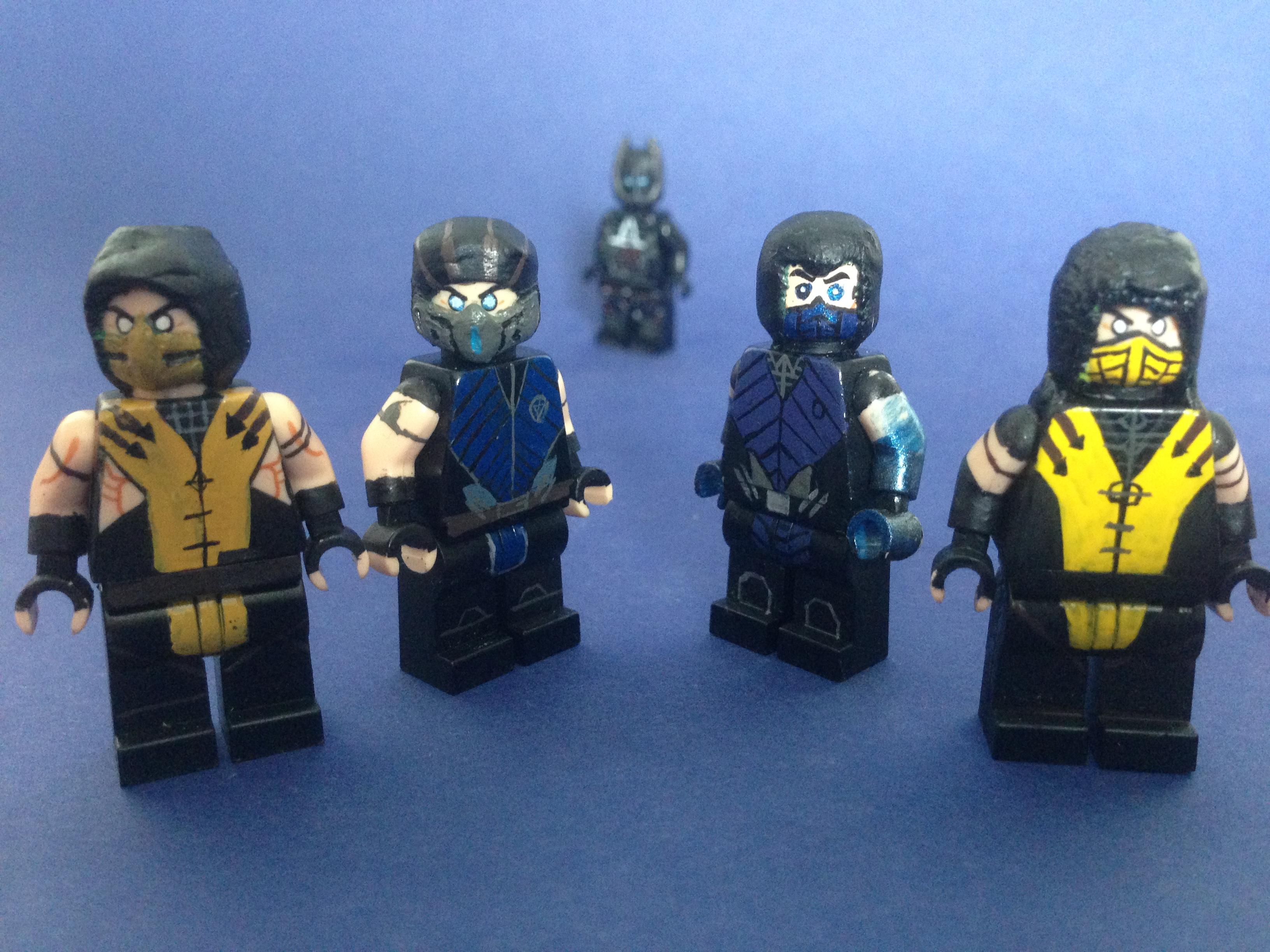Lego Mortal Kombat All Characters: LEGO Marvel Superheroes ...  Lego Mortal Kom...
