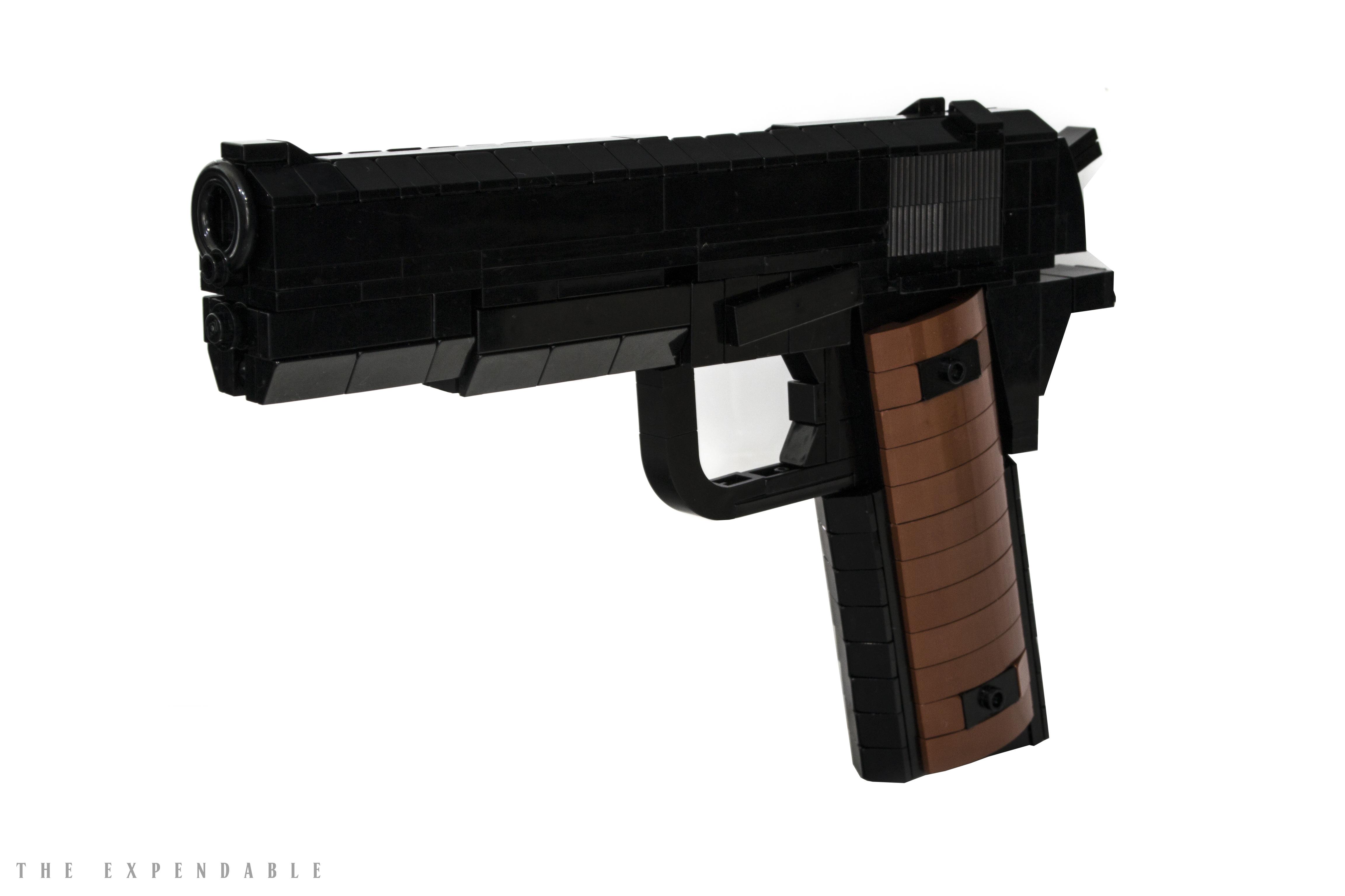 LEGO Pistol Handgun Colt 1911 Browning M1911