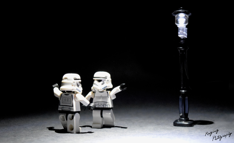 Wallpaper Lego Star Wars Stormtrooper La Land Recreation
