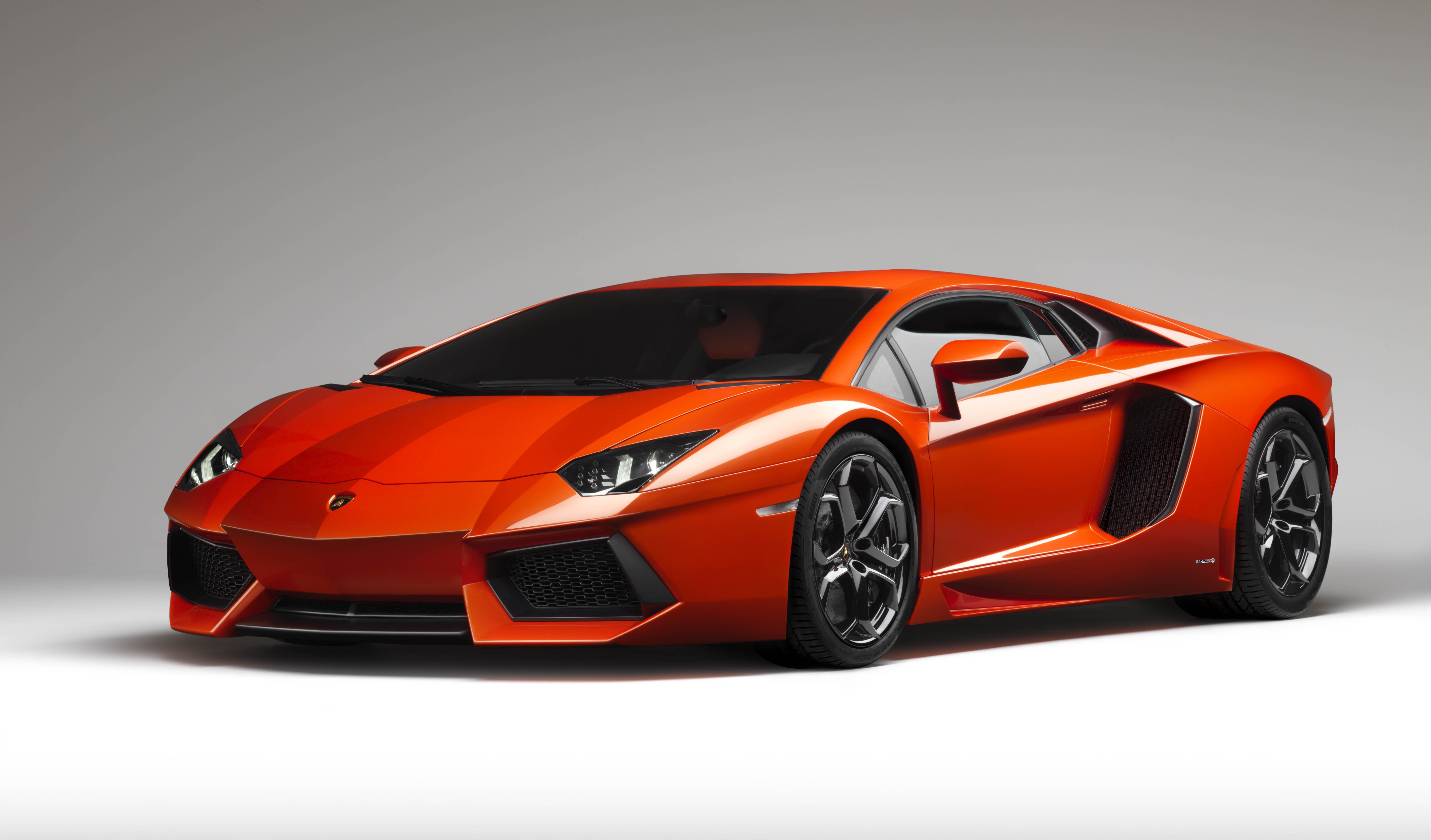 Wallpaper Lamborghini Aventador Car Red Cars Super Car Vehicle