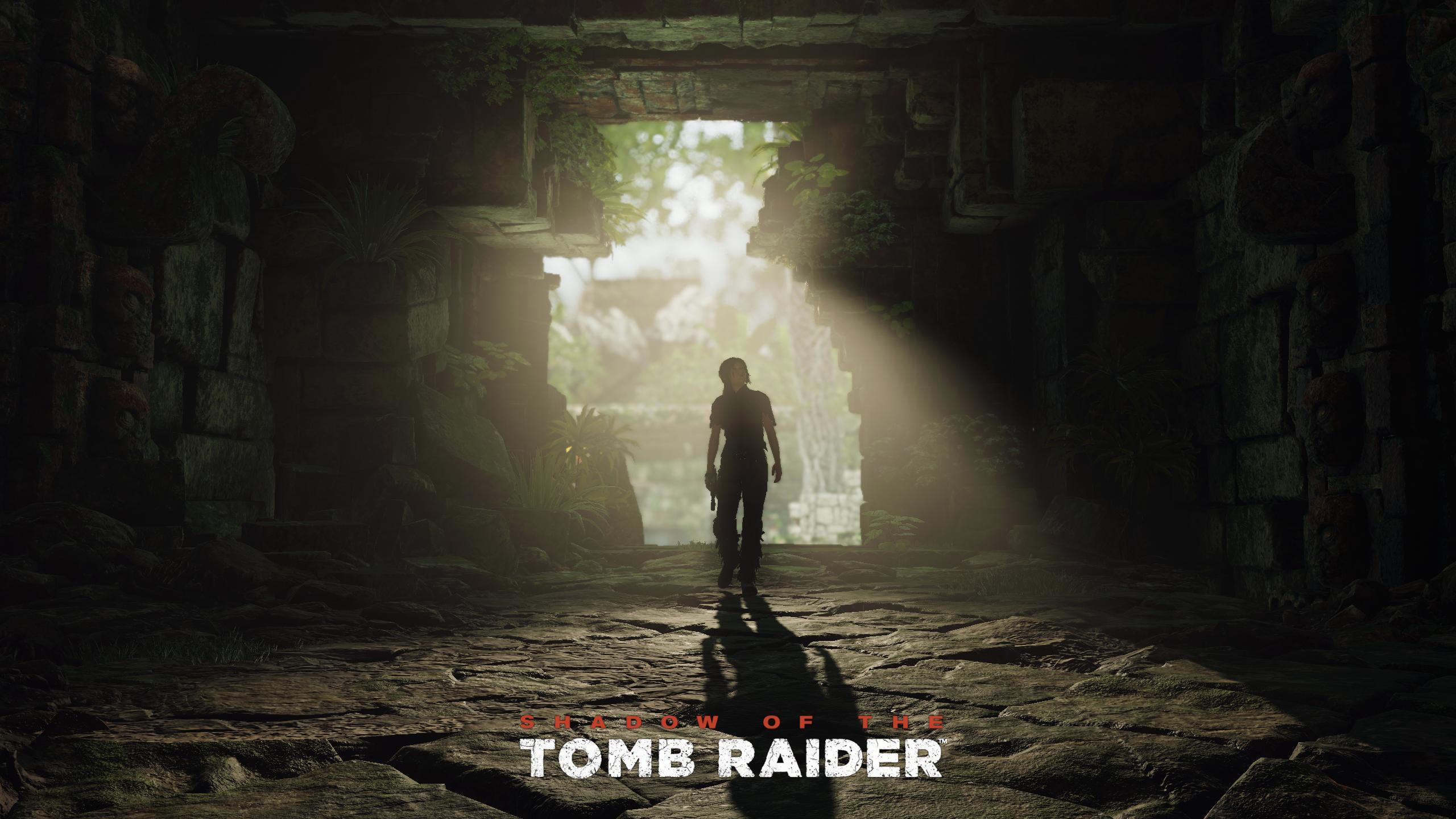 Wallpaper Lara Croft Shadow Of The Tomb Raider 2560x1440