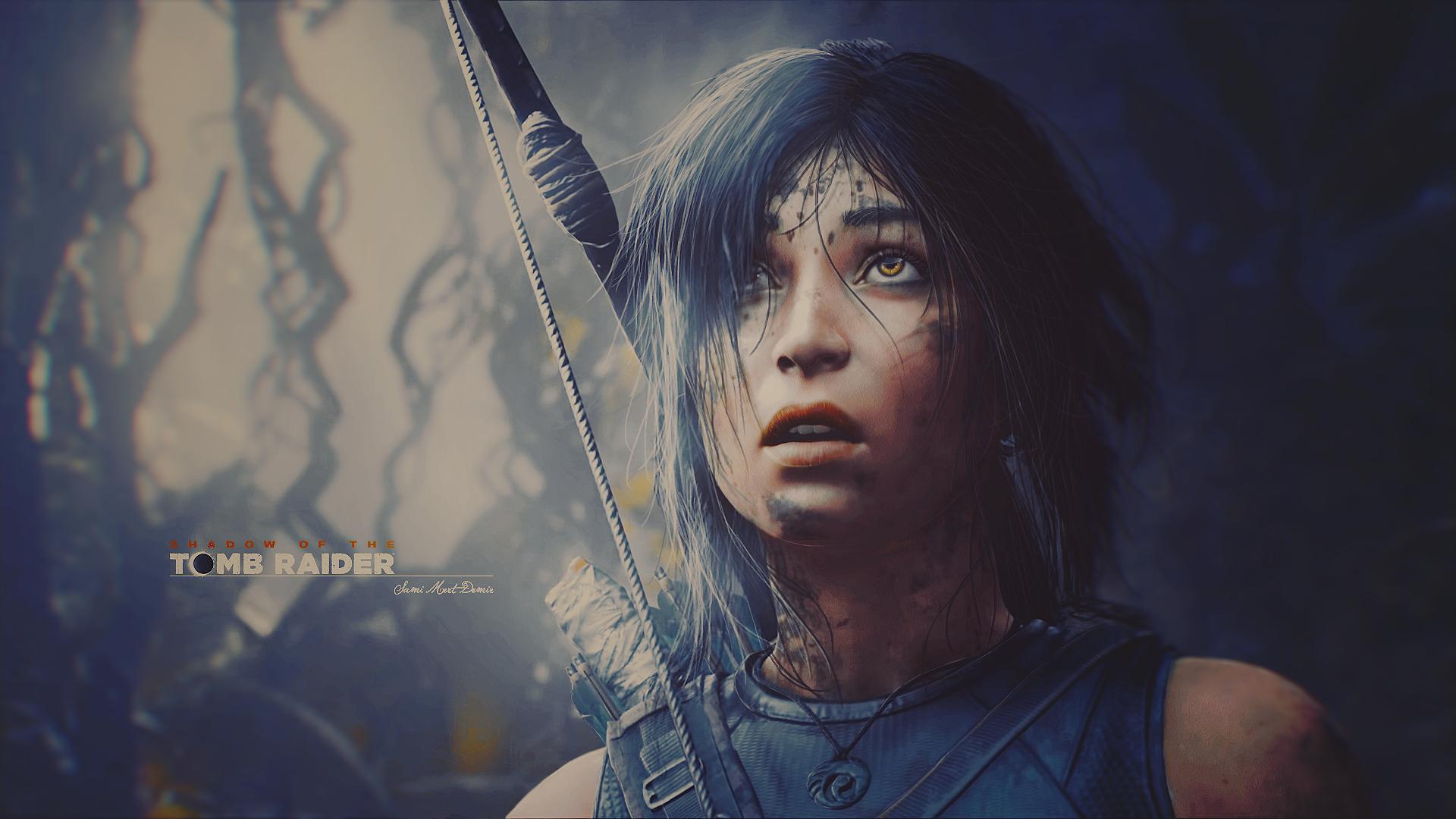 Wallpaper Lara Croft Tomb Raider Shadow Of The Tomb Raider