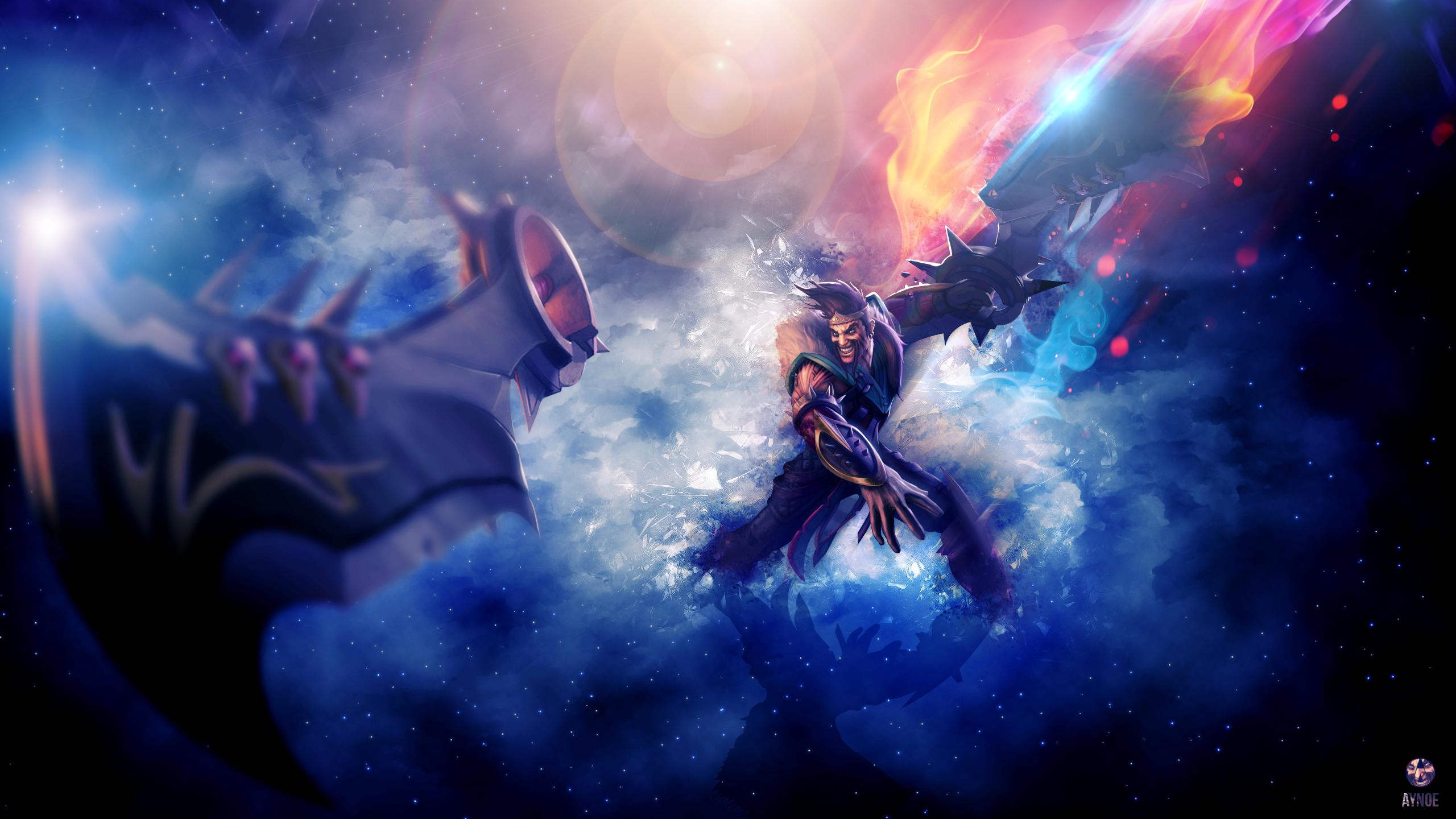 Wallpaper League Of Legends Draven Adc Marksman Noxus