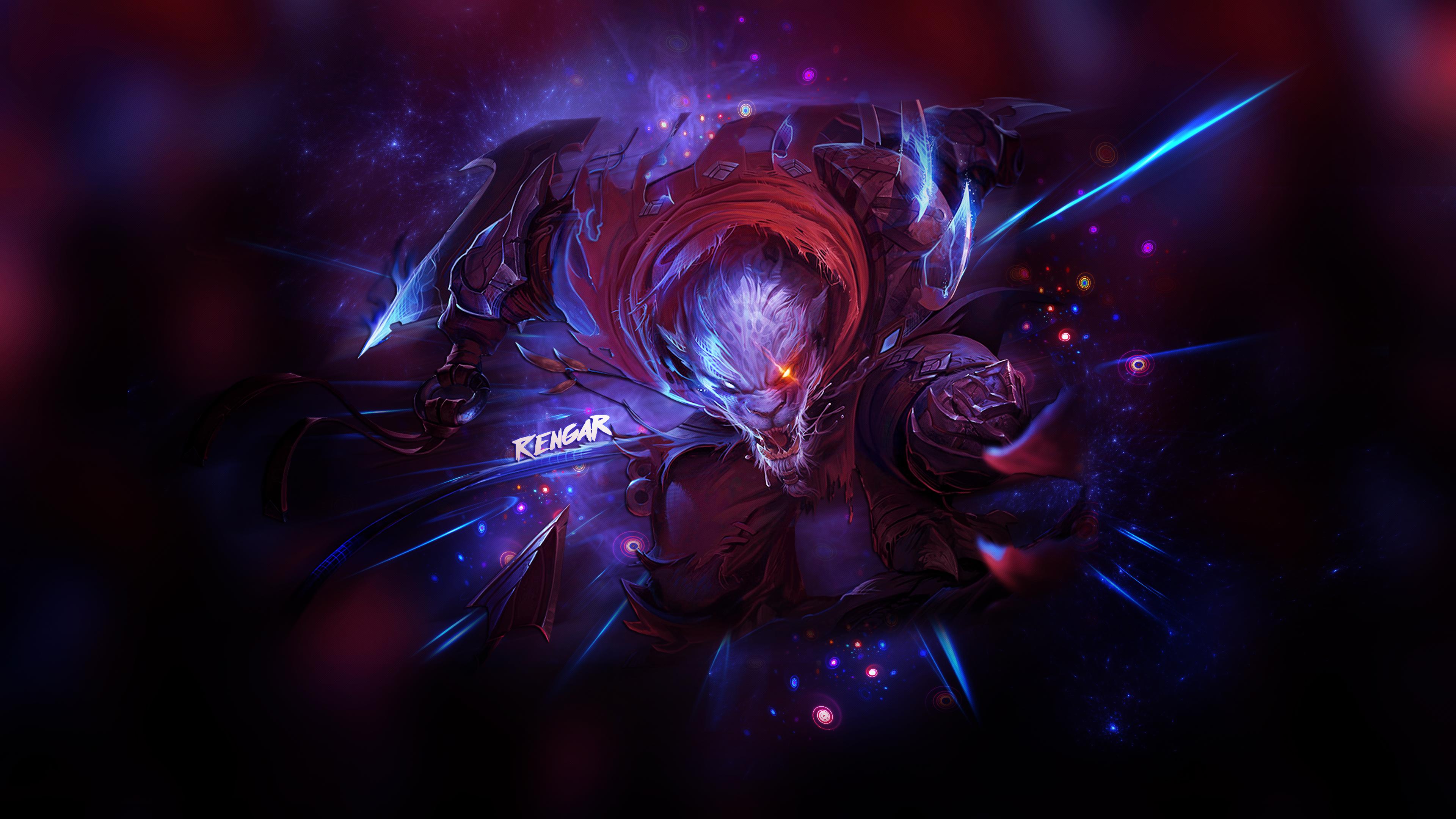 Masaüstü Efsaneler Ligi Rengar League Of Legends 3840x2160