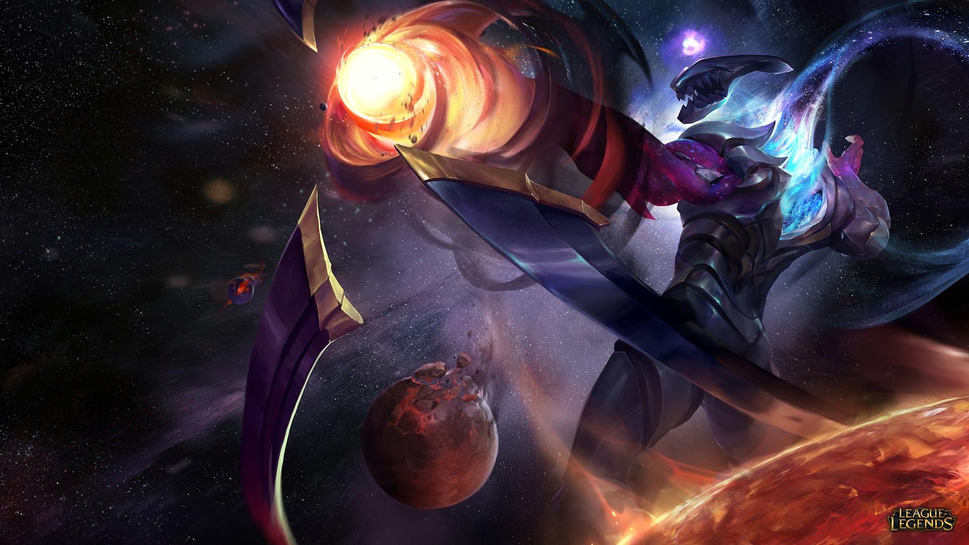 Wallpaper League Of Legends Thresh Varus League Of Legends