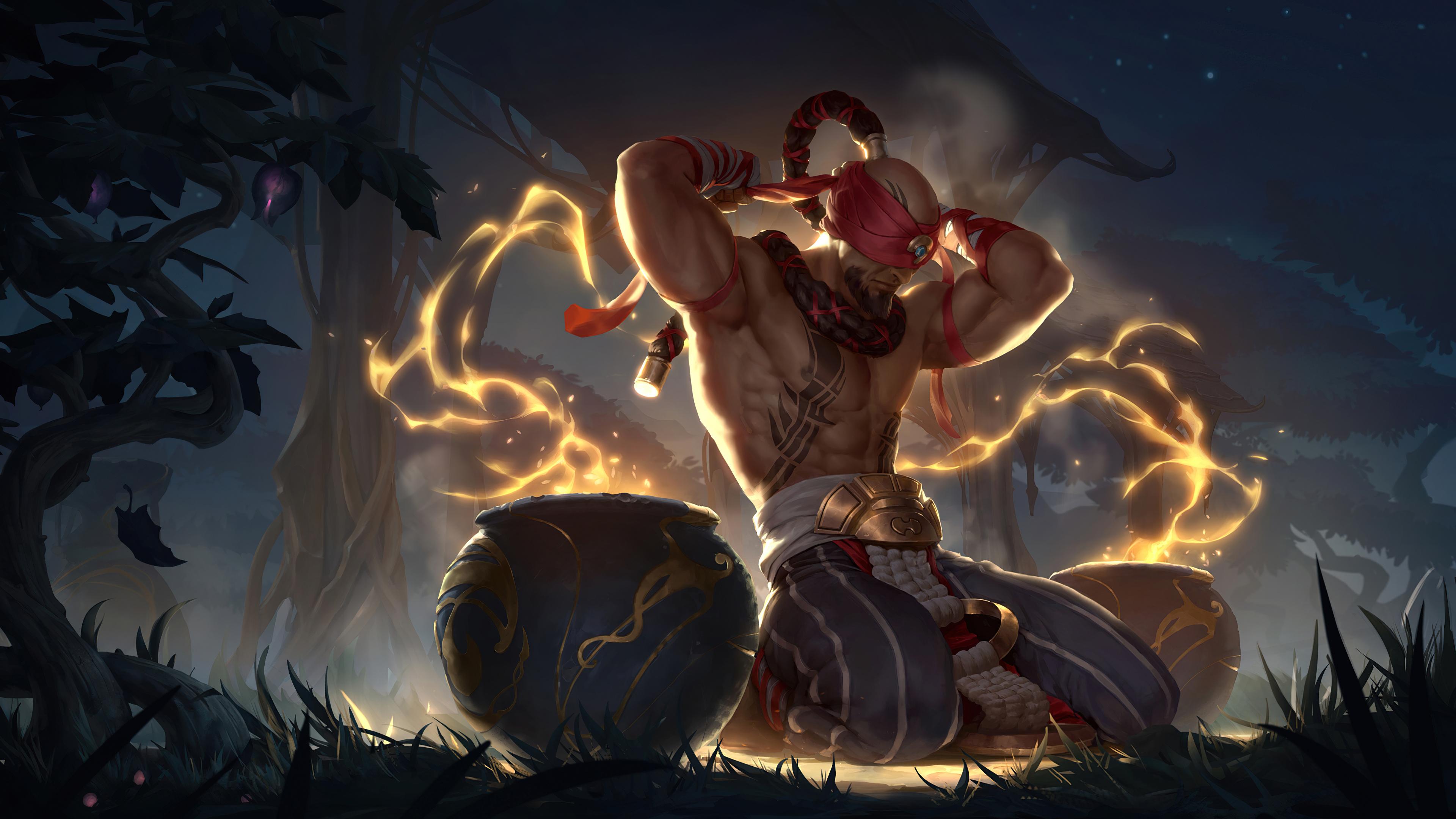 デスクトップ壁紙 Lee Sin Lee Sin League Of Legends Legends Of Runeterra ビデオゲーム 3840x2160 Tiner 121 デスクトップ壁紙 Wallhere