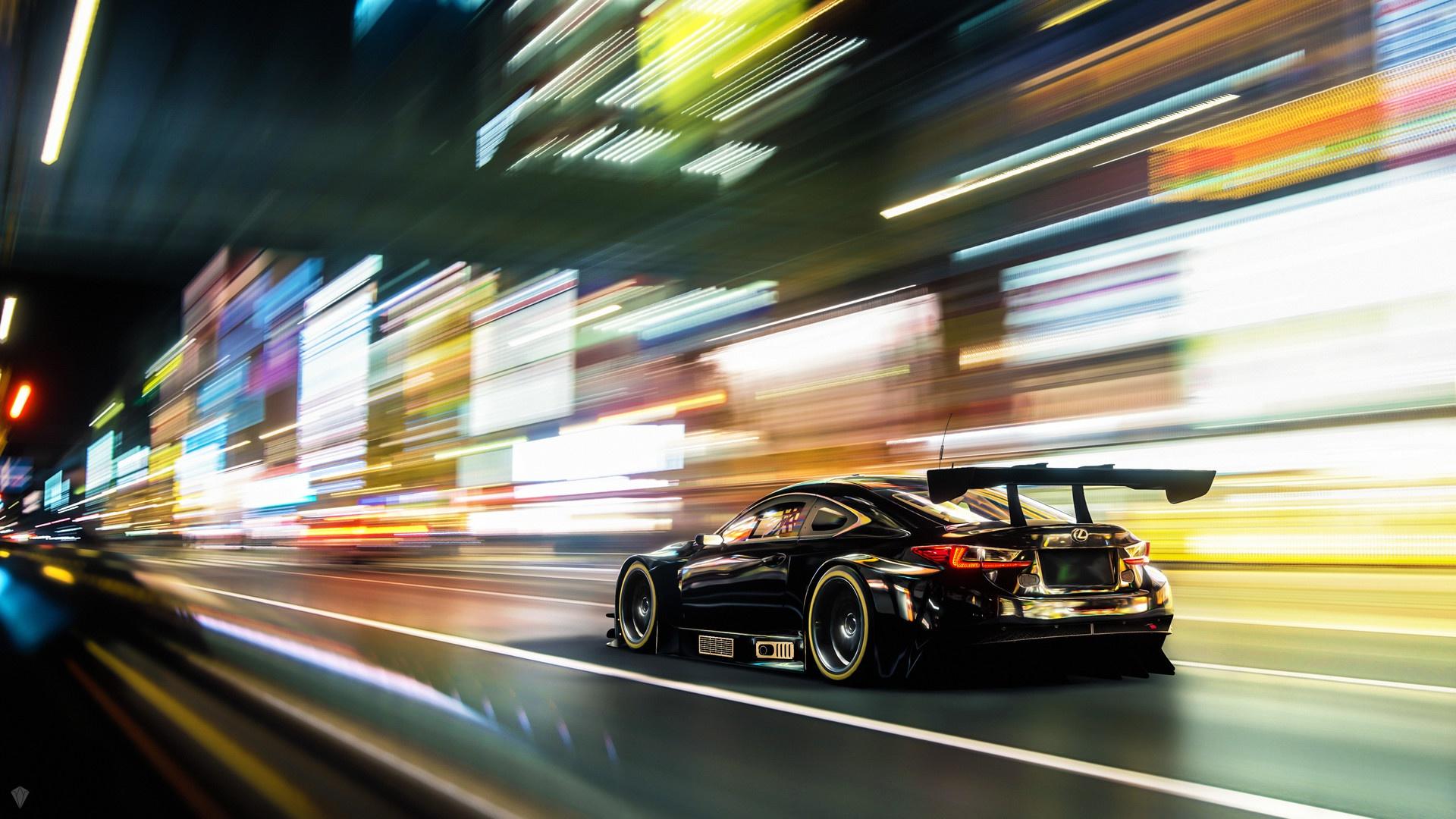 Wallpaper Lexus Rc F Car Vehicle 1920x1080 Wallpapermaniac 1513447 Hd Wallpapers Wallhere
