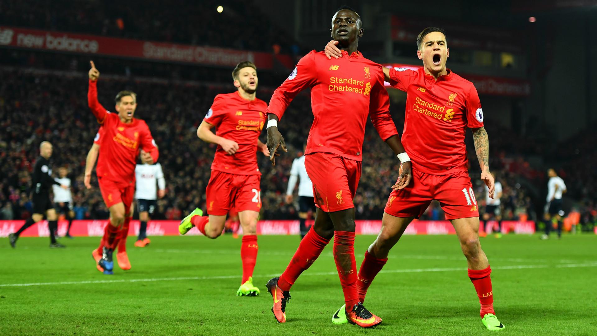 Wallpaper : Liverpool FC, Sadio Mane, Philippe Coutinho