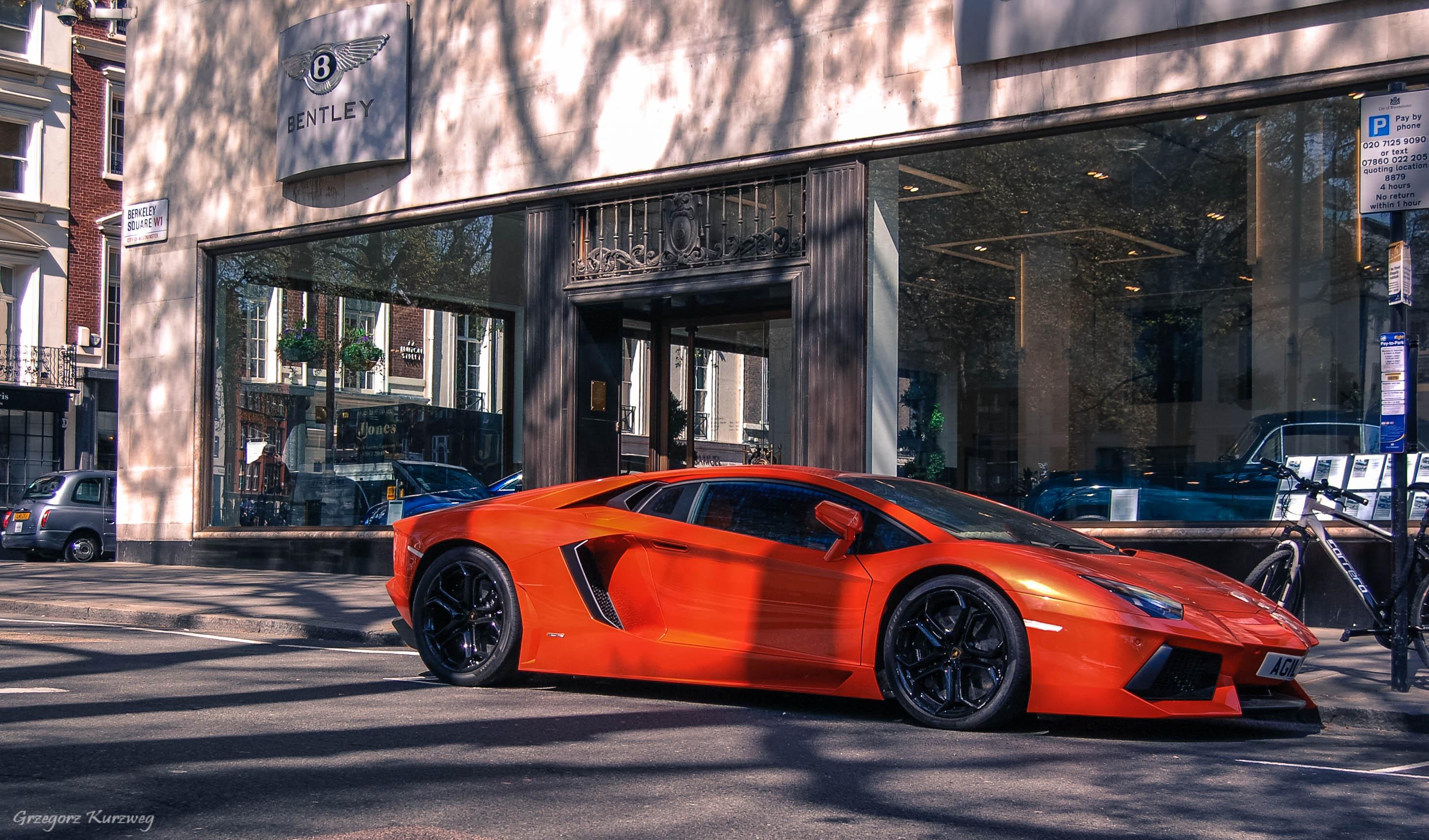 Wallpaper London Street Road Supercars England Lamborghini - Hyper fast cars