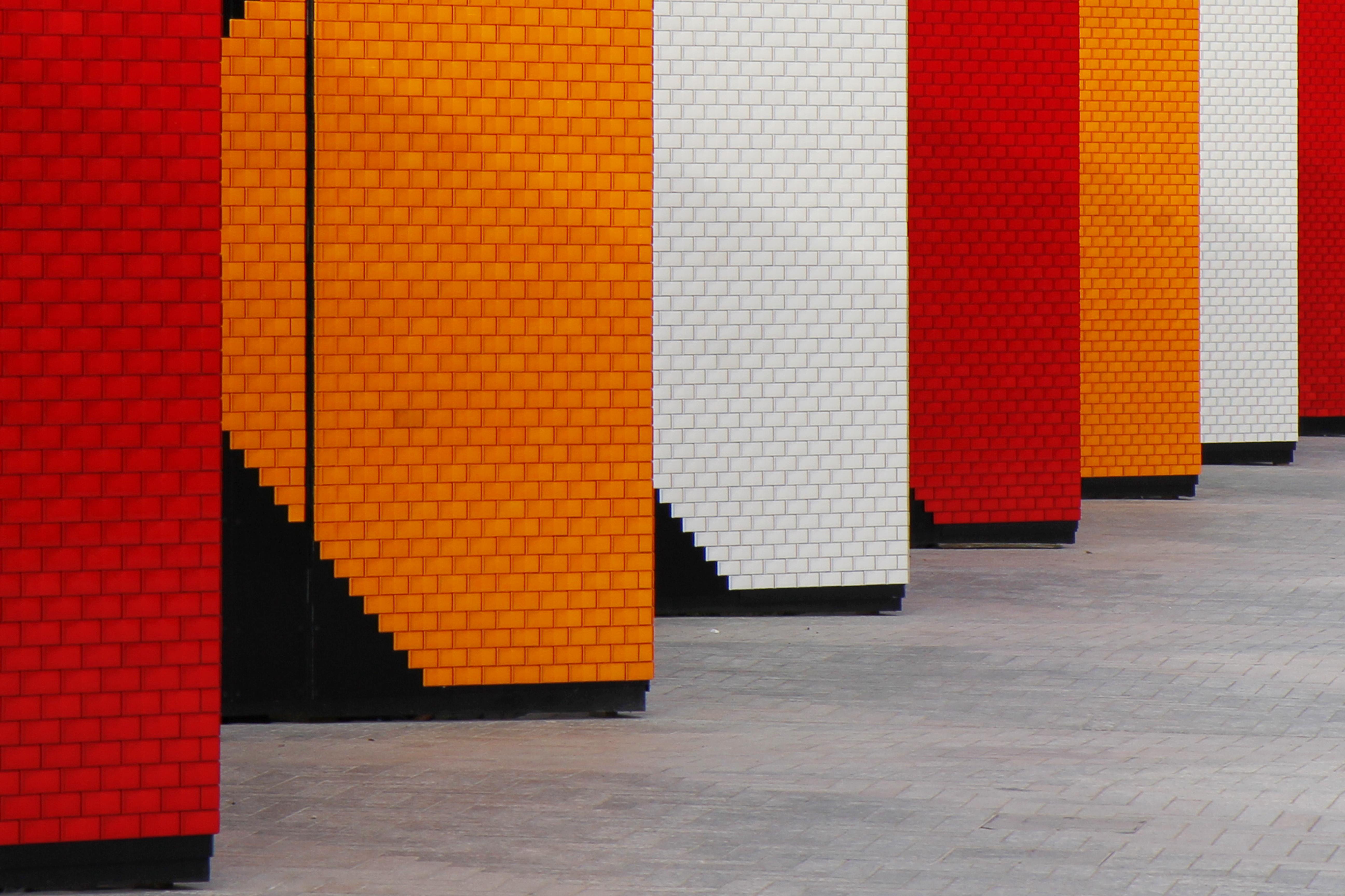 Fondos de pantalla : Londres, rojo, pared, Obra de arte, madera ...