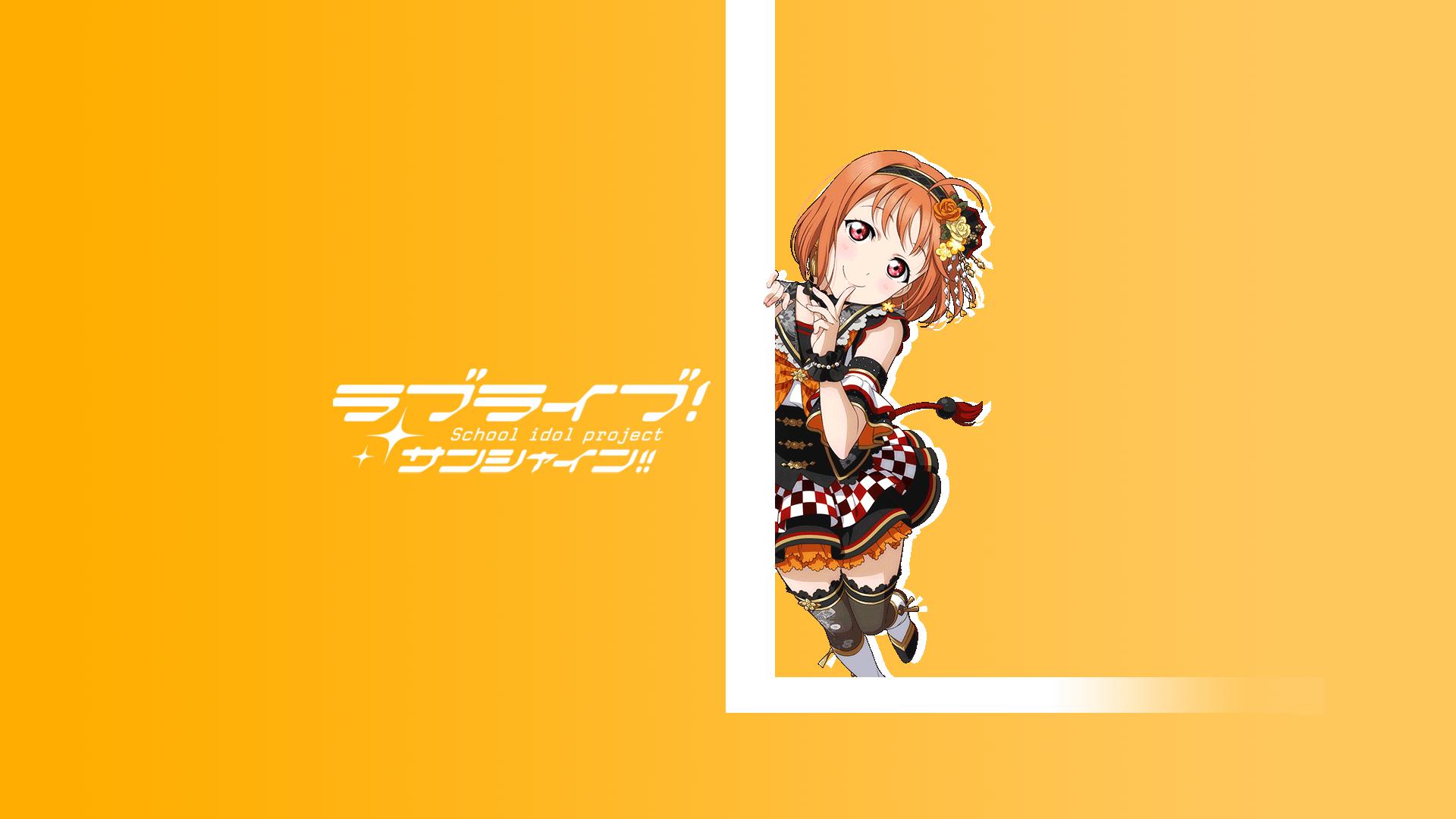 Love Live Sunshine simple orange color 1442125