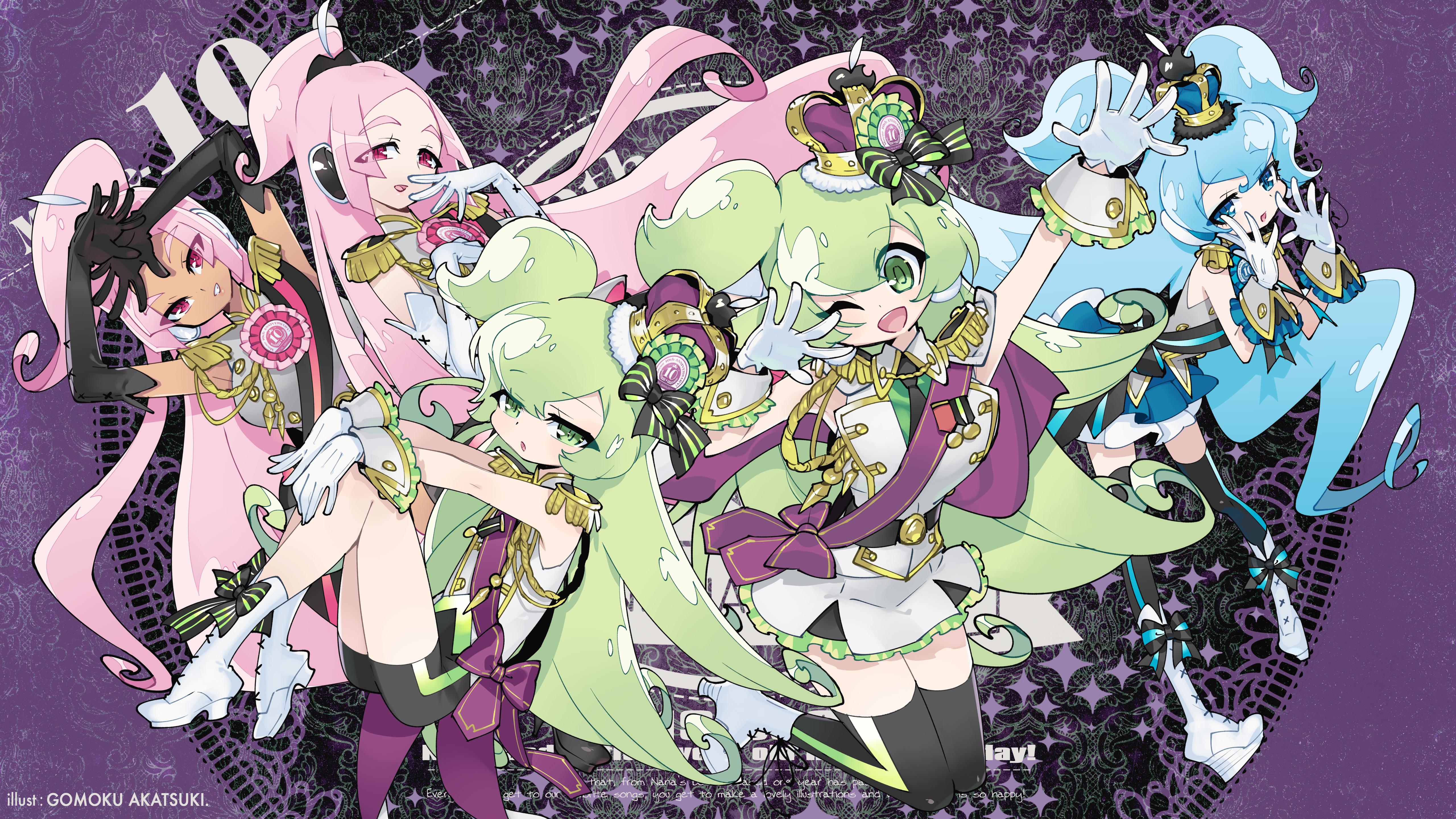 Wallpaper : Macloid, Vocaloid 5120x2880 - Kandii - 1605525