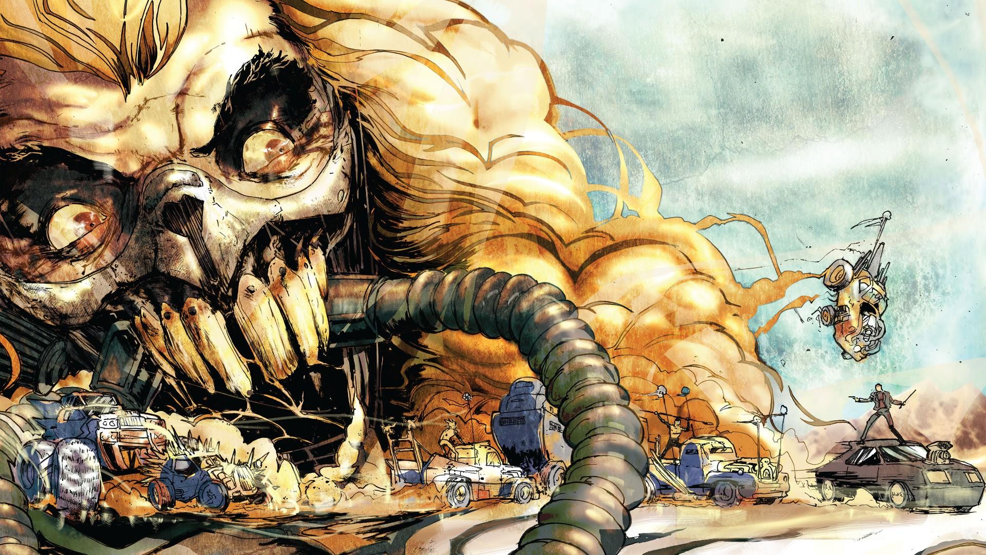 Mad Max Mad Max Fury Road comics ART