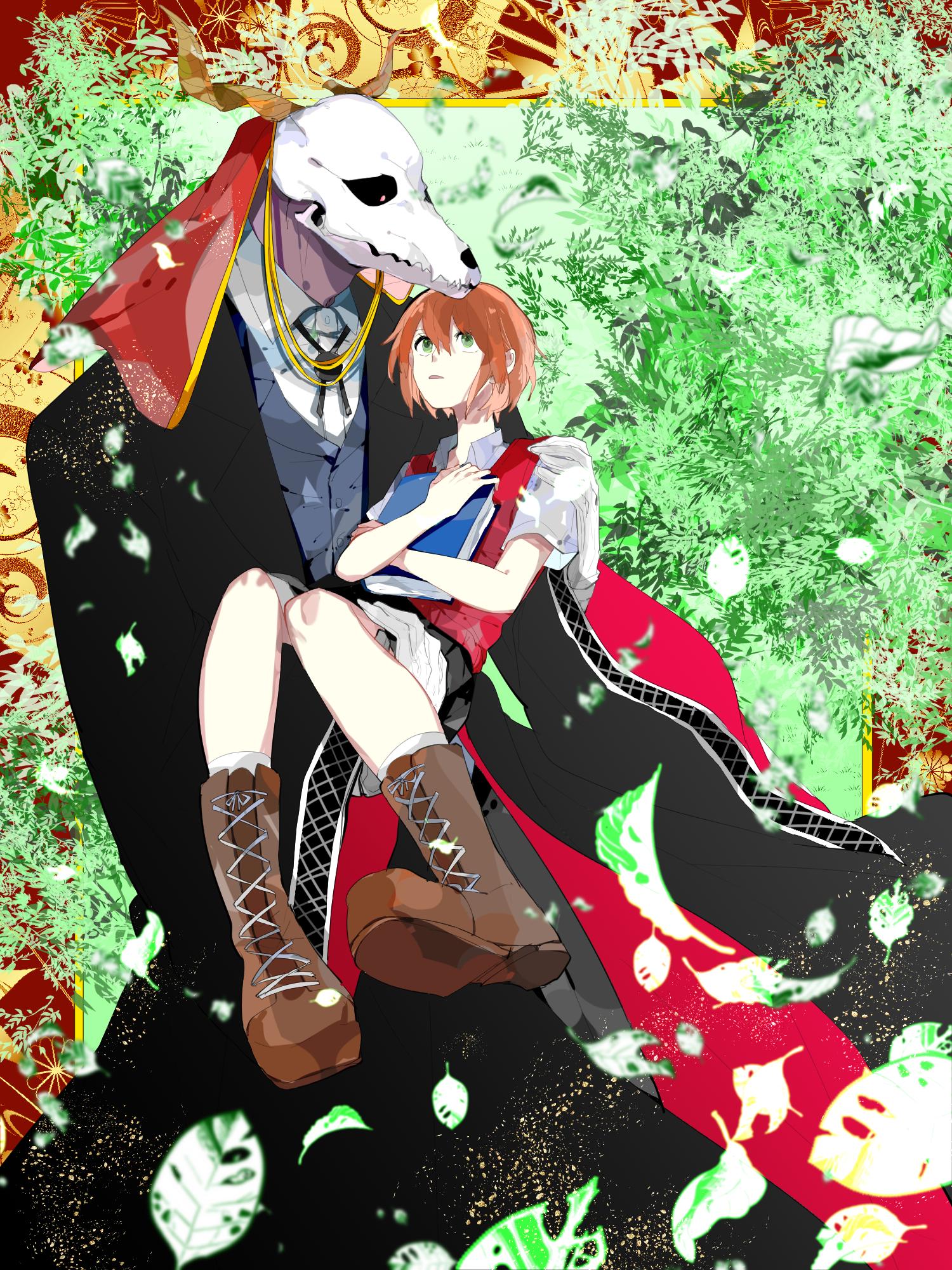 Wallpaper Mahoutsukai No Yome Hatori Chise Elias Ainsworth