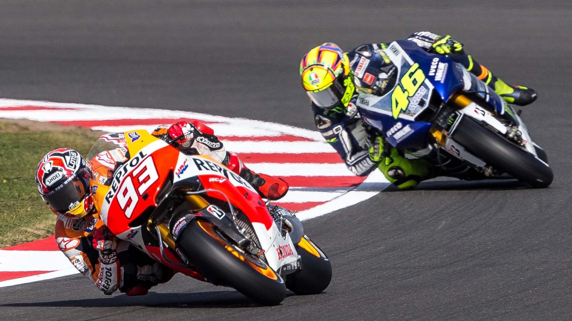 Motogp Rossi Marquez