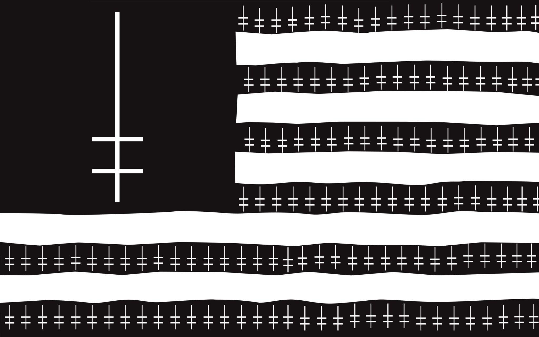 Wallpaper Marilyn Manson Music Flag Parody 2048x1280