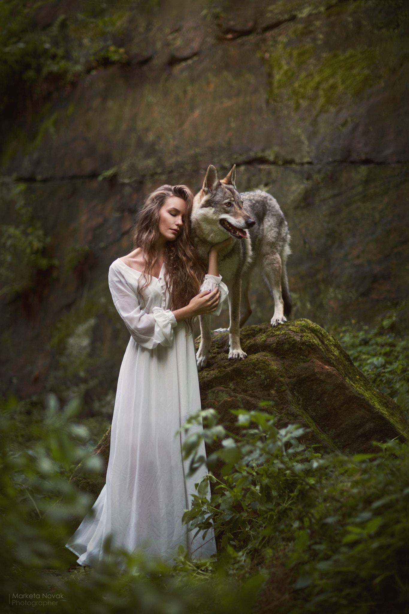 women Outdoors, Women, Model, Fantasy Art, Collage