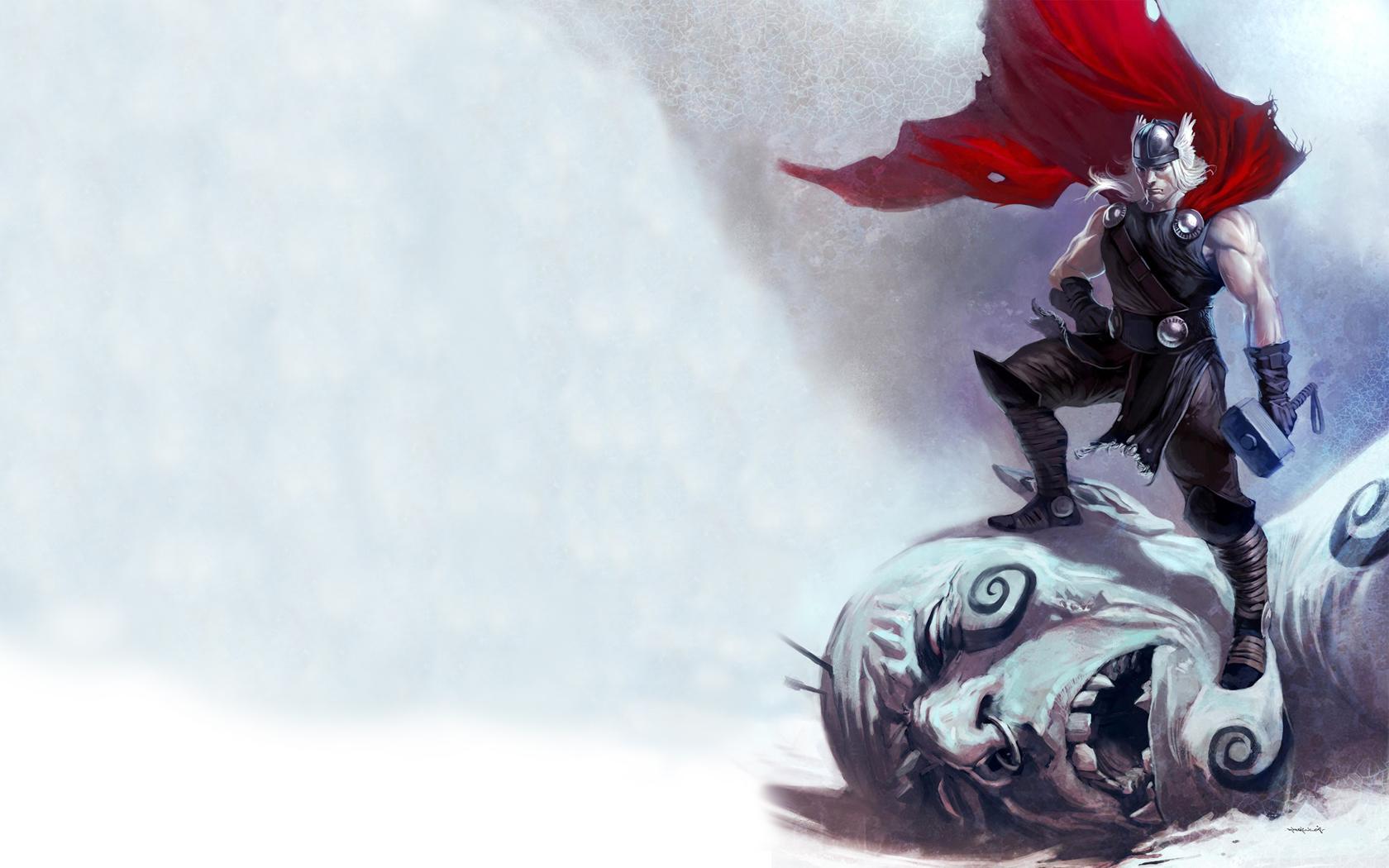 Top Wallpaper Marvel Thor - Marvel-Comics-Thor-Frost-giant-Mjolnir-fantasy-art-cape-259429  Image_568962.jpg
