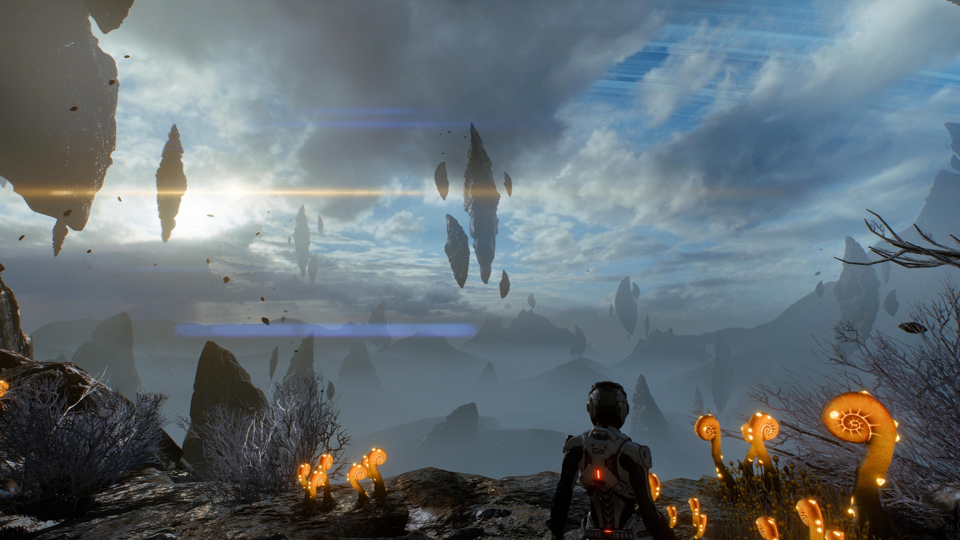 Wallpaper Mass Effect Andromeda Andromeda Initiative Mass