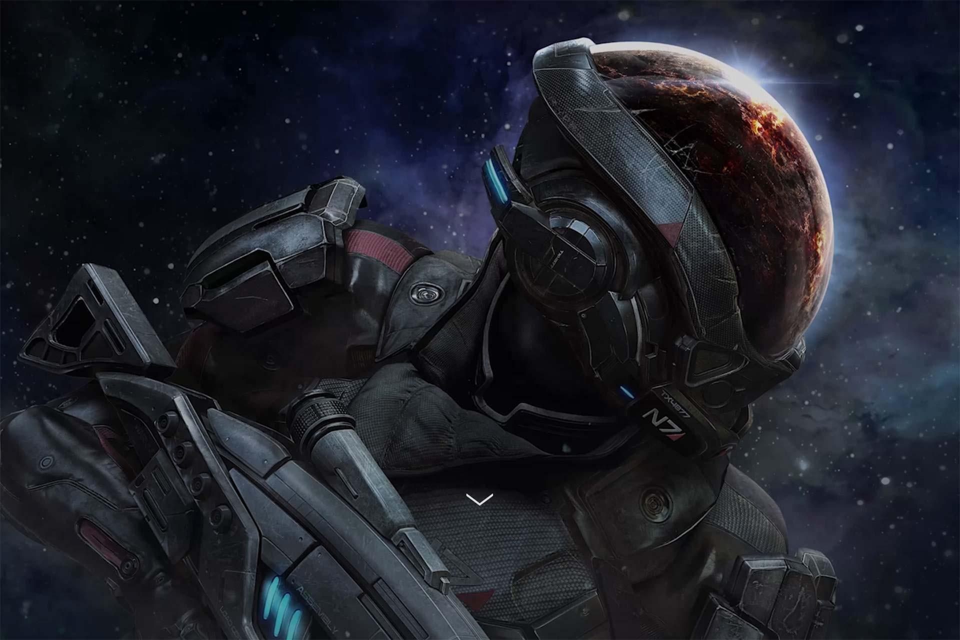 Wallpaper Mass Effect Mass Effect Andromeda Screenshot