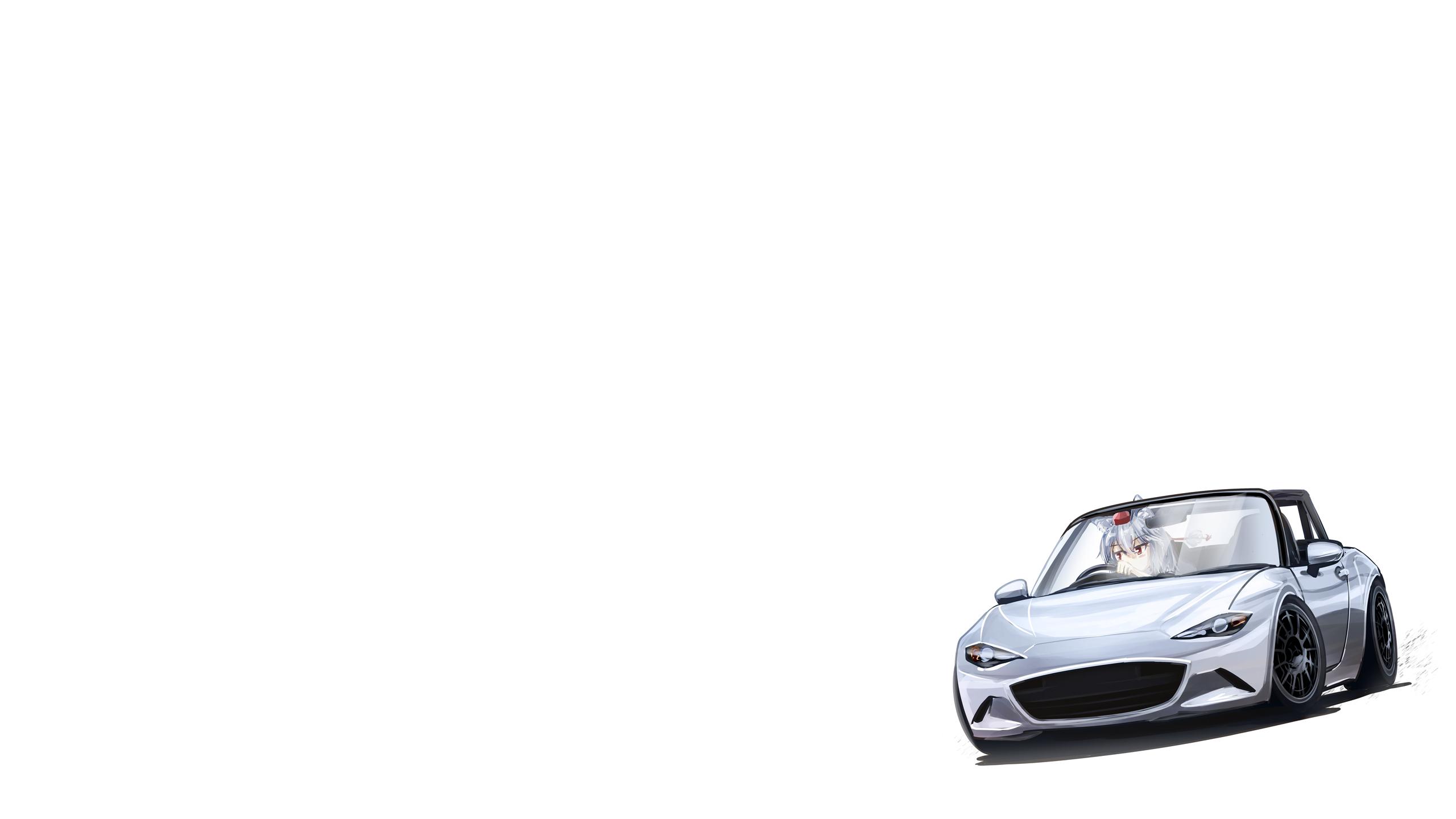 Fond D Ecran Mazda Mx 5 Voiture Touhou Inubashiri Momiji Fond Blanc Minimalisme Filles Anime 2560x1440 Nadeshiko 1921789 Fond D Ecran Wallhere