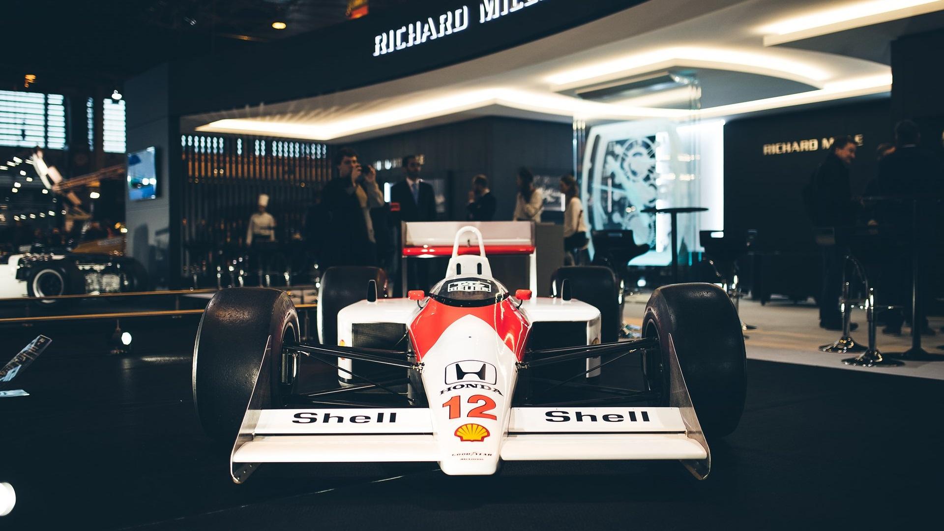 Wallpaper Mclaren F1 Ayrton Senna Race Cars Formula 1 Honda