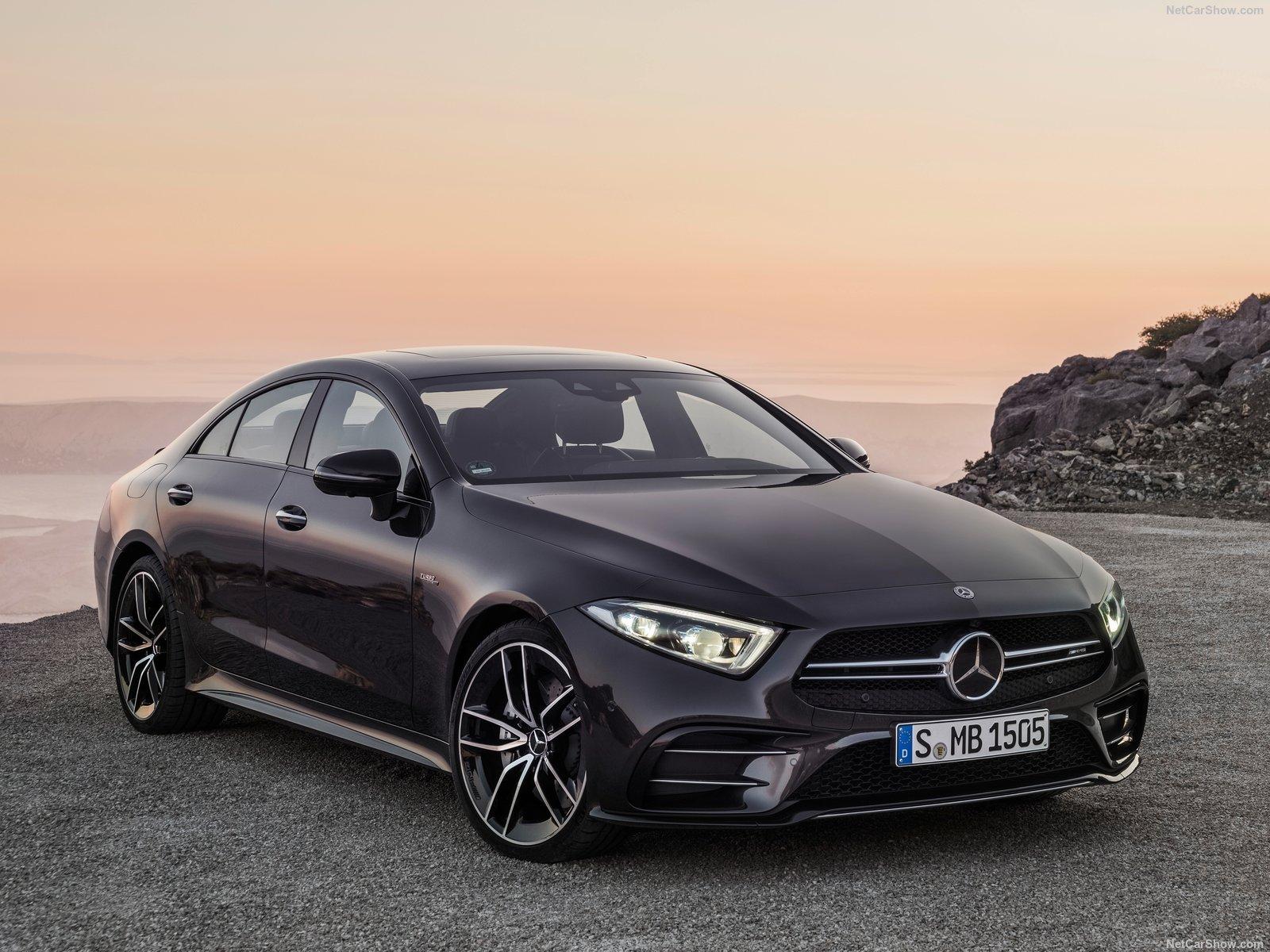 Wallpaper Mercedes Benz Cls53 Amg 2019 Black 1600x1200 Ettie03