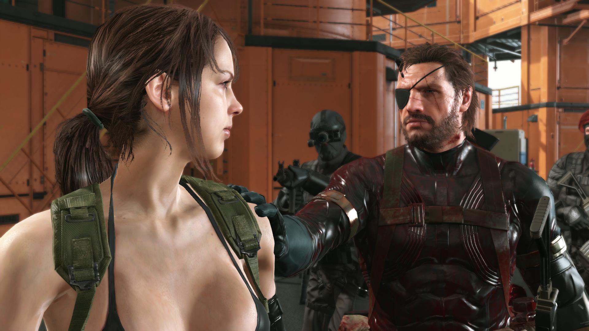 Wallpaper Metal Gear Metal Gear Solid V The Phantom Pain Quiet