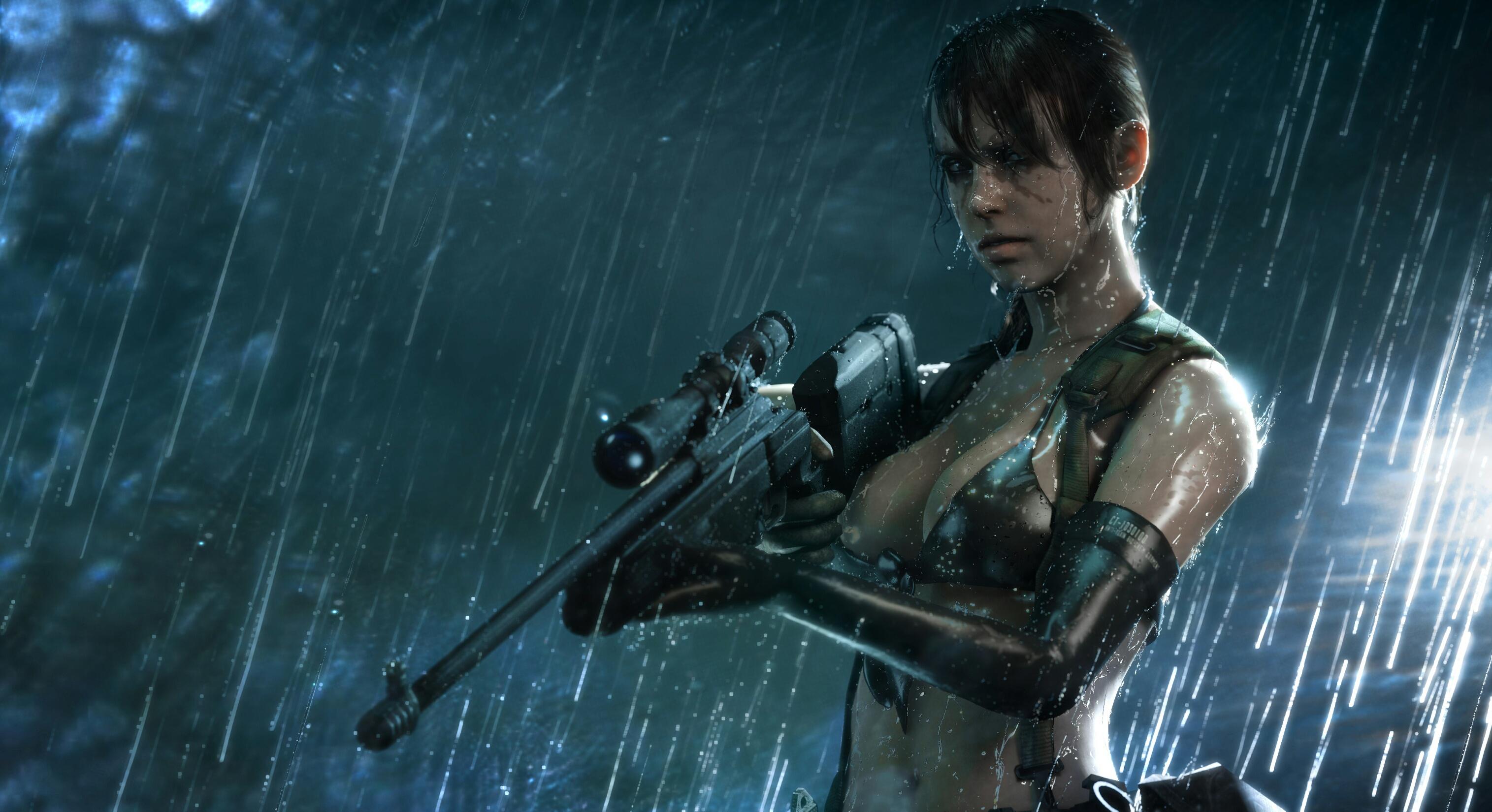 Wallpaper Metal Gear Solid Metal Gear Solid V The Phantom Pain