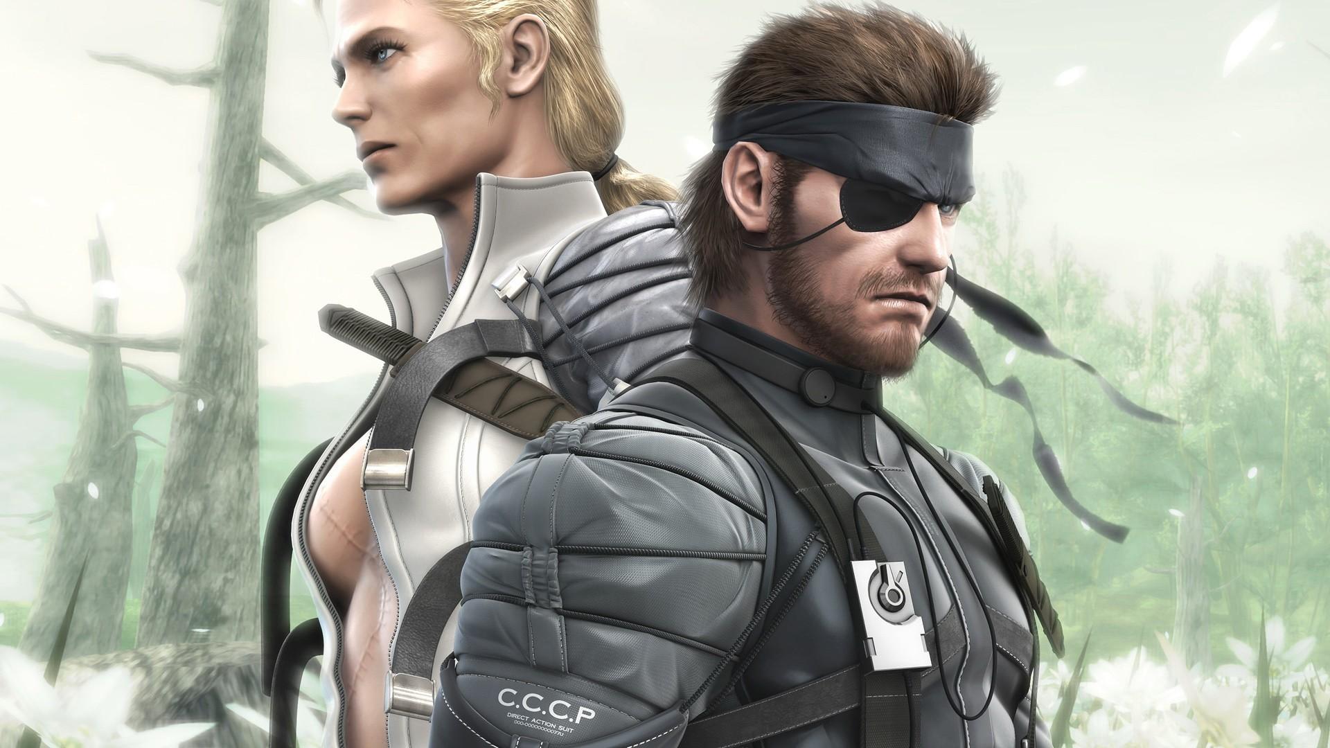 Wallpaper Metal Gear Solid Metal Gear The Boss Big Boss