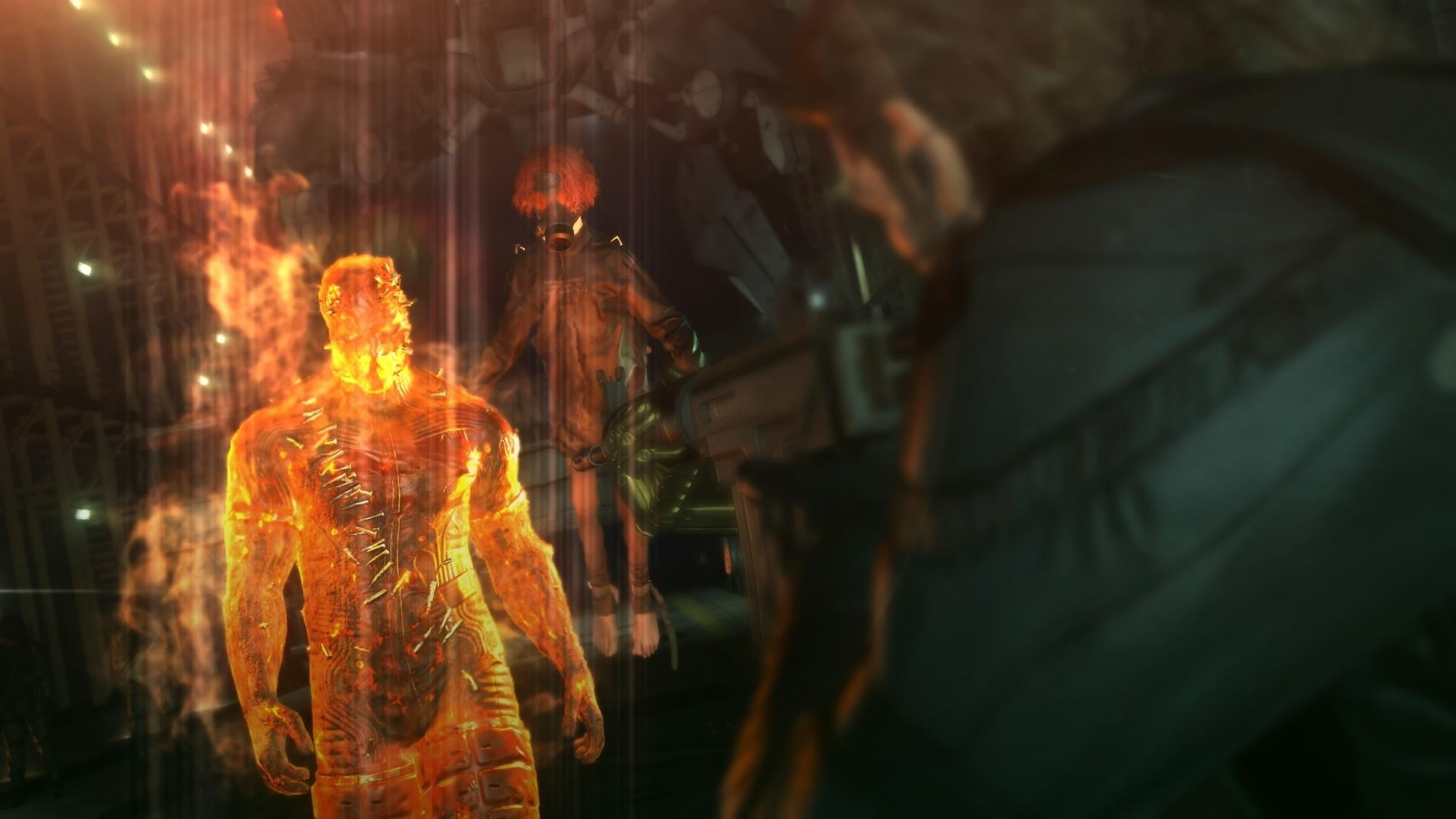 Wallpaper Metal Gear Solid V The Phantom Pain Venom Snake