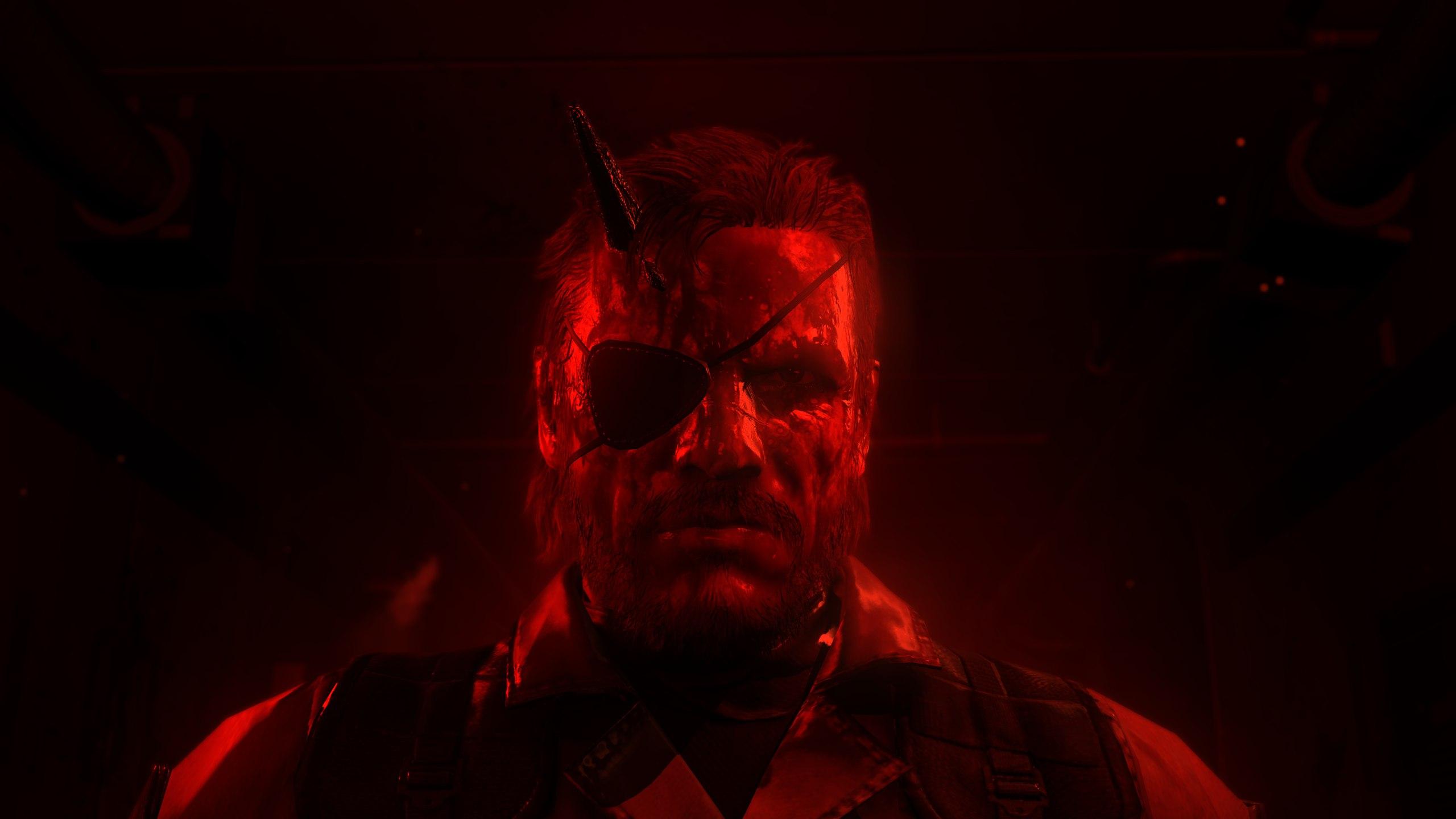 Wallpaper Metal Gear Solid V The Phantom Pain Snake 2560x1440