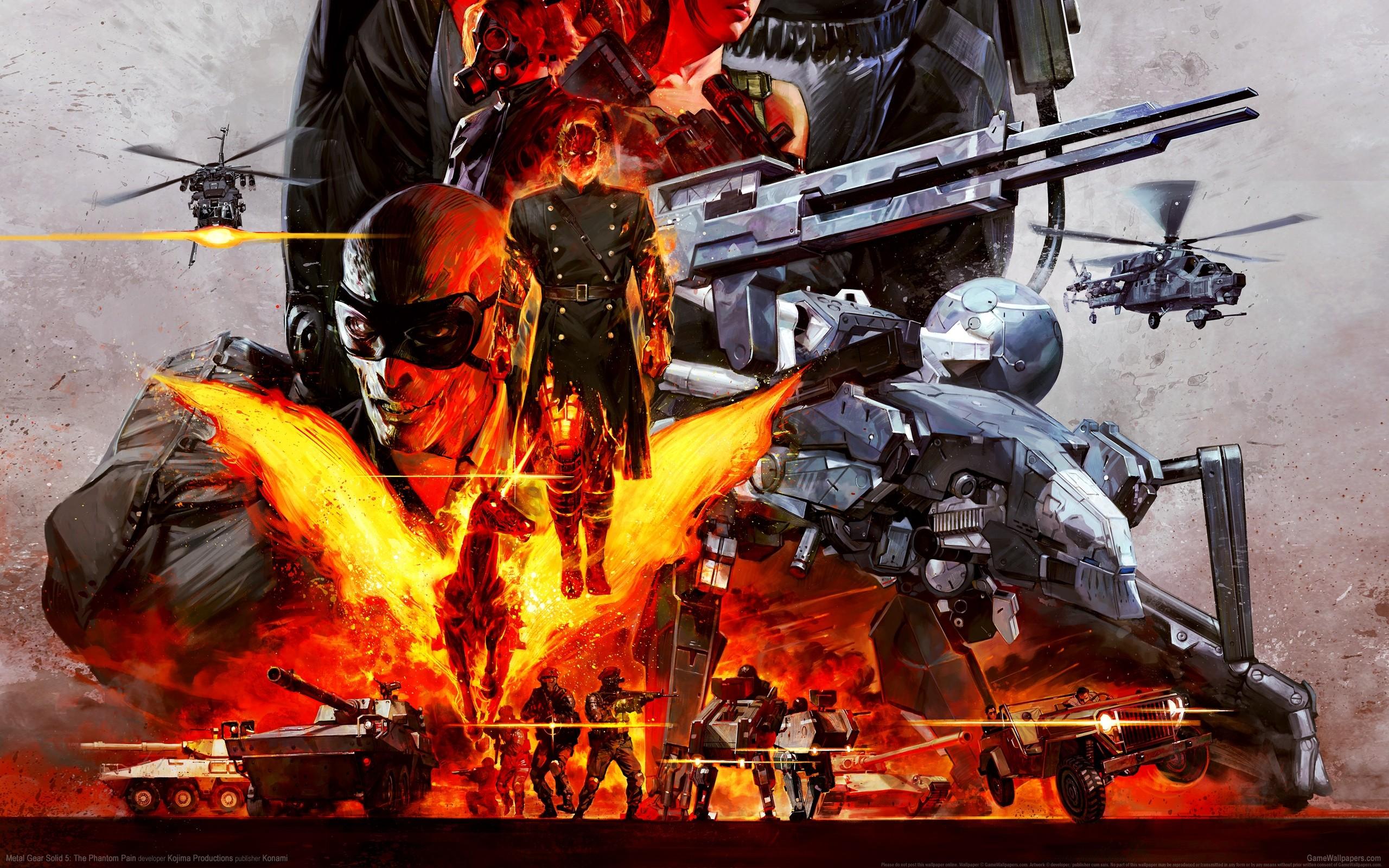 Wallpaper Metal Gear Solid Machine Comics Metal Gear